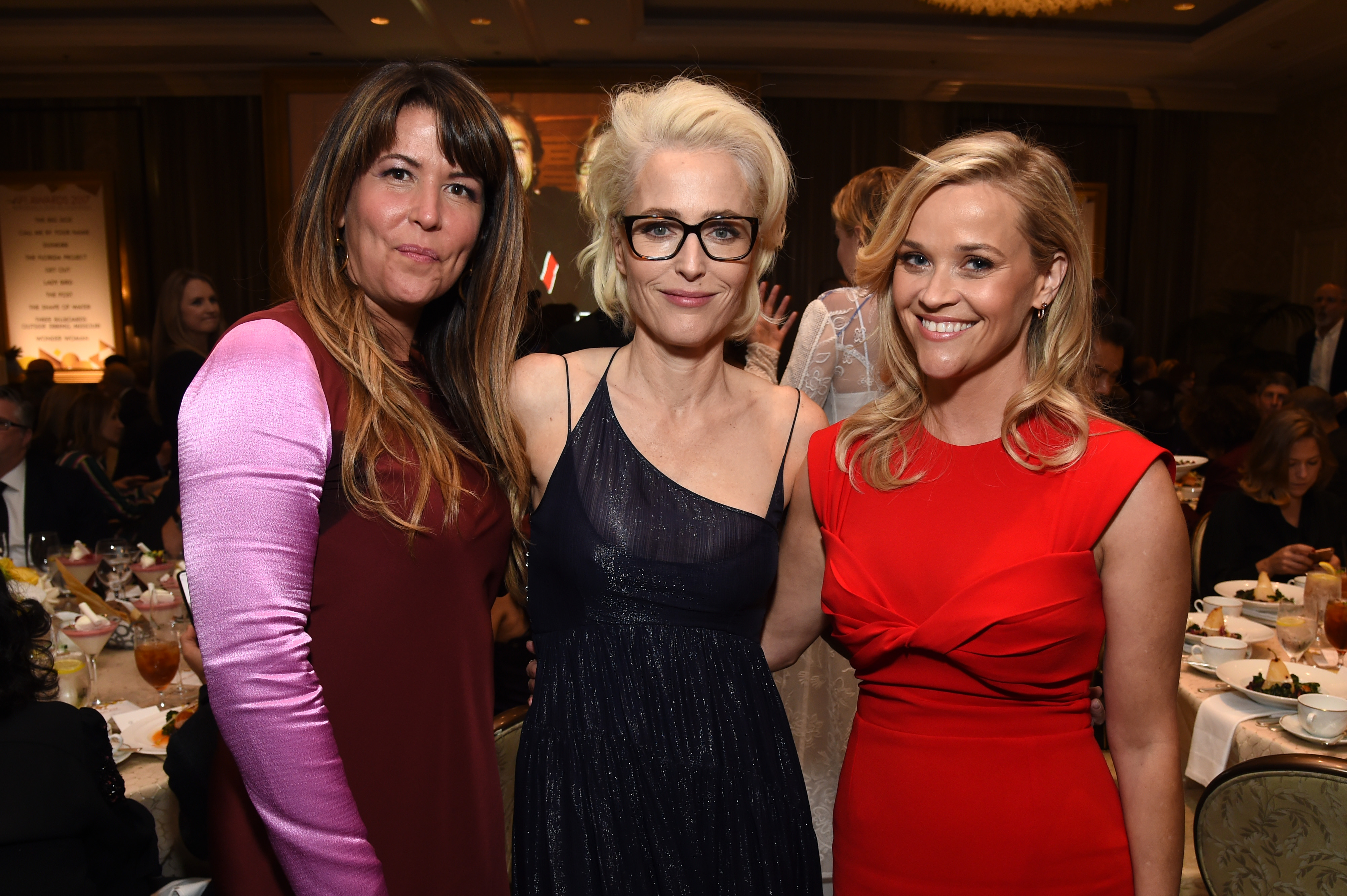 Patty Jenkins, Gillian Anderson and Reese Witherspoon attend the 18th Annual AFI Awards