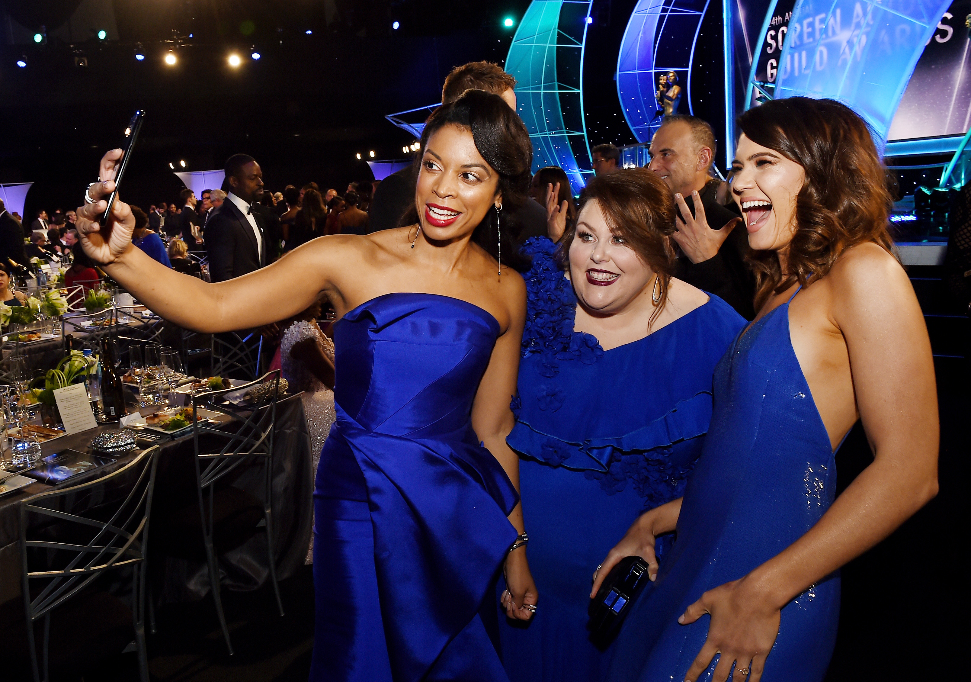24th Annual Screen Actors Guild Awards – Cocktail Hour