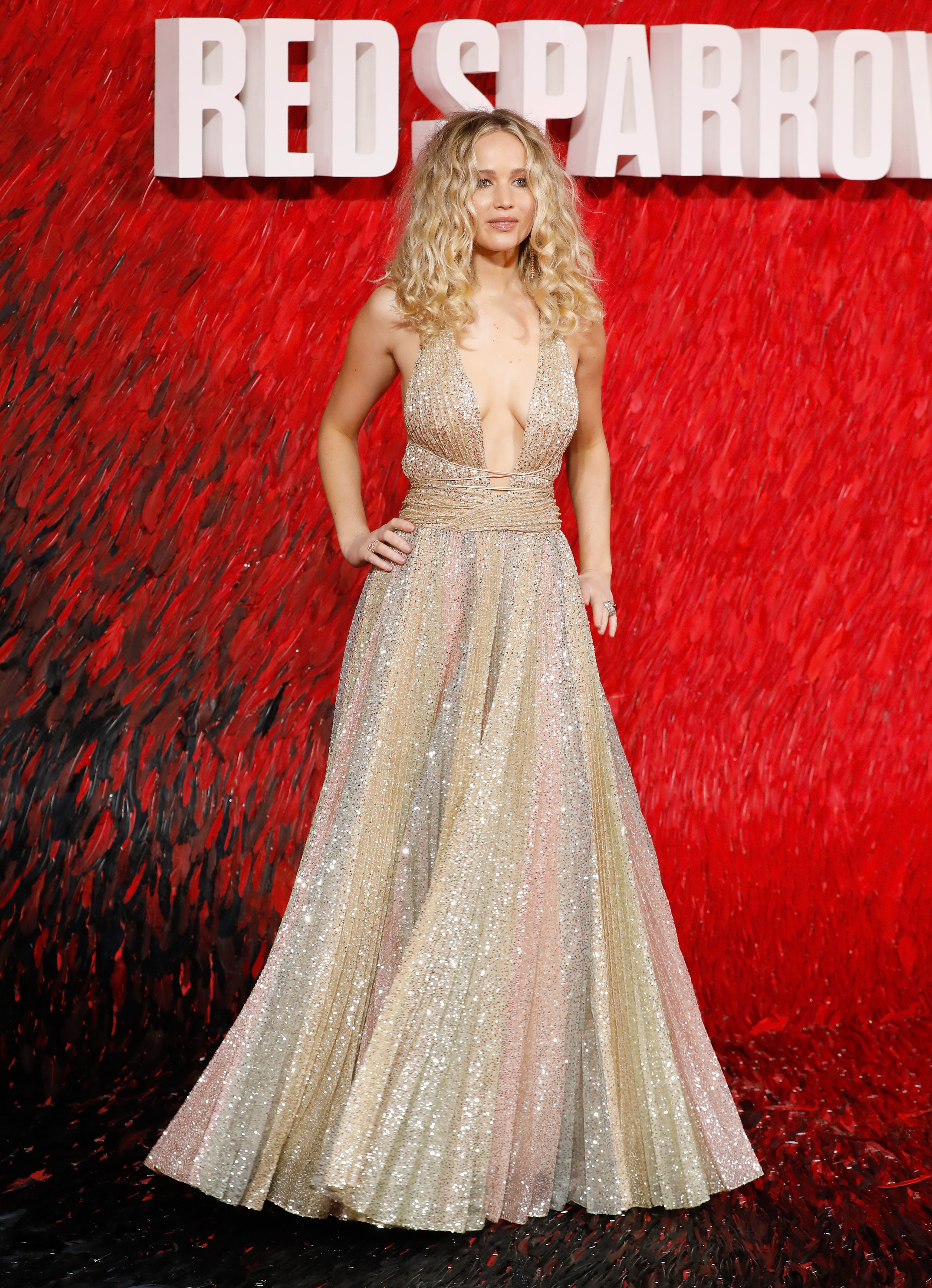 989bc97d Jennifer Lawrence attends the 'Red Sparrow' European premiere at the Vue  West End on