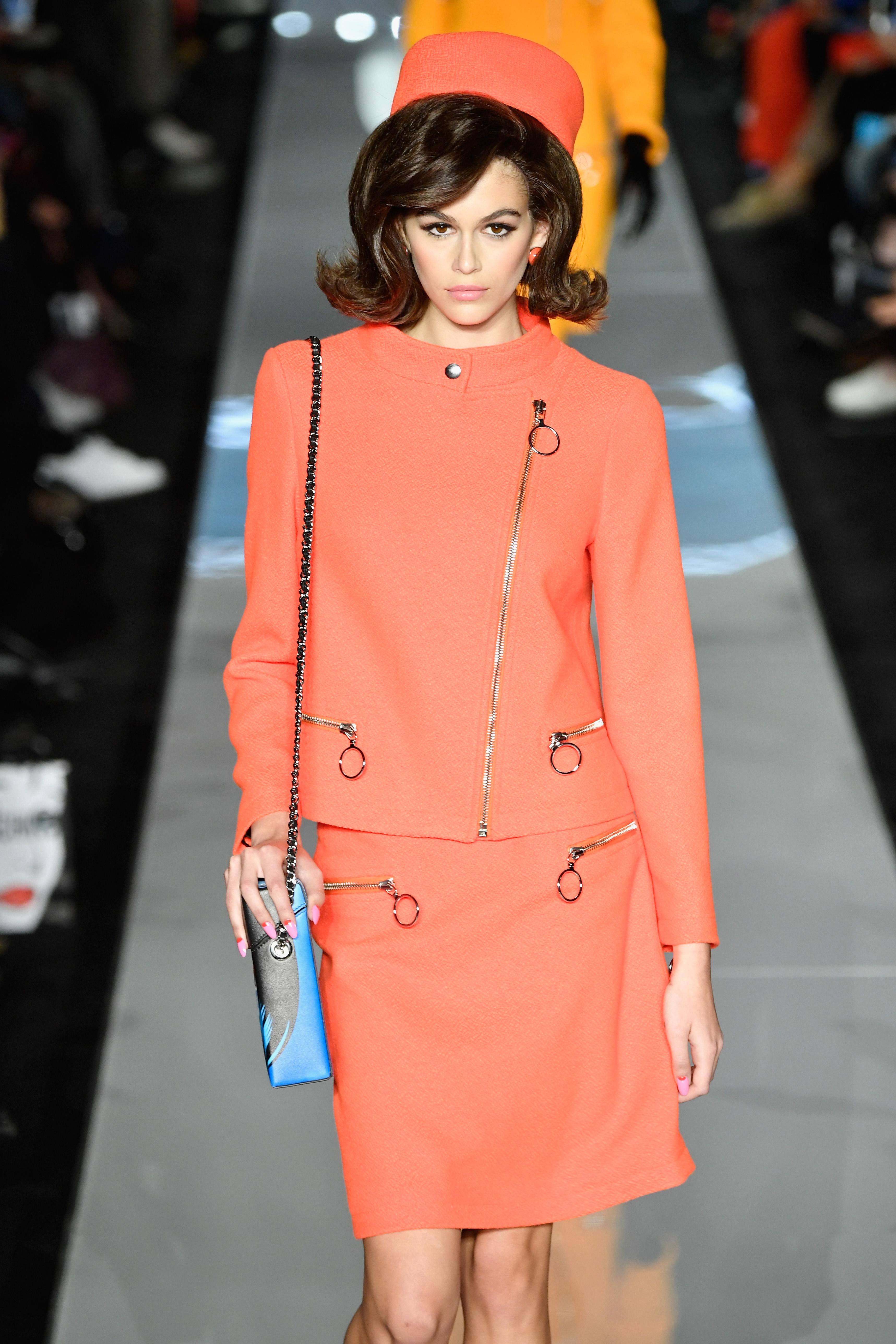 Kaia-Gerber-Gigi-Hadid-Bella-Hadid-Channel-Jackie-Kennedy-At-Milan-Fashion-Week