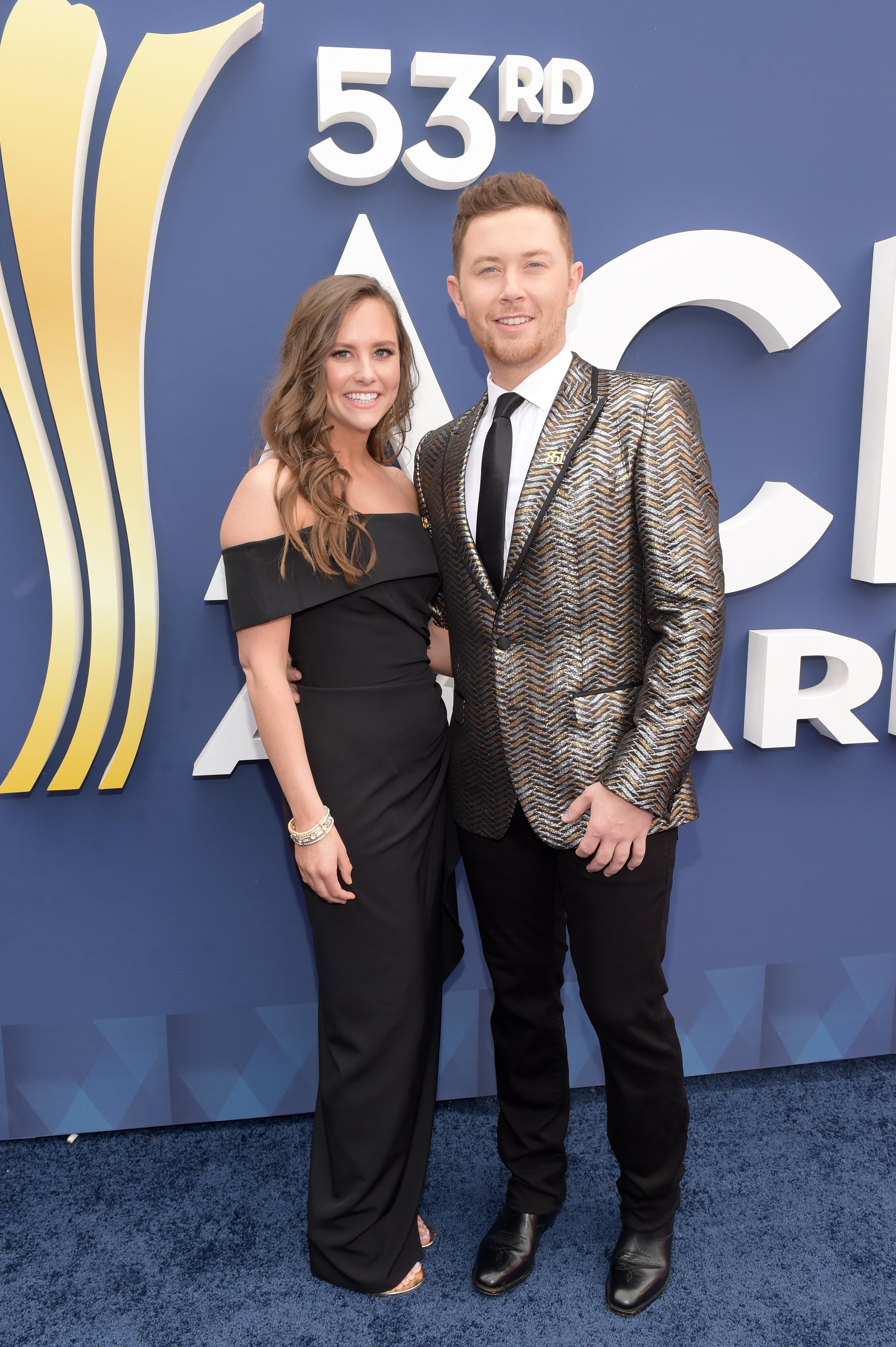 Scotty-McCreery-Brings-His-Fiancee-Gabi-Dugal-To-The-2018-ACM-Awards