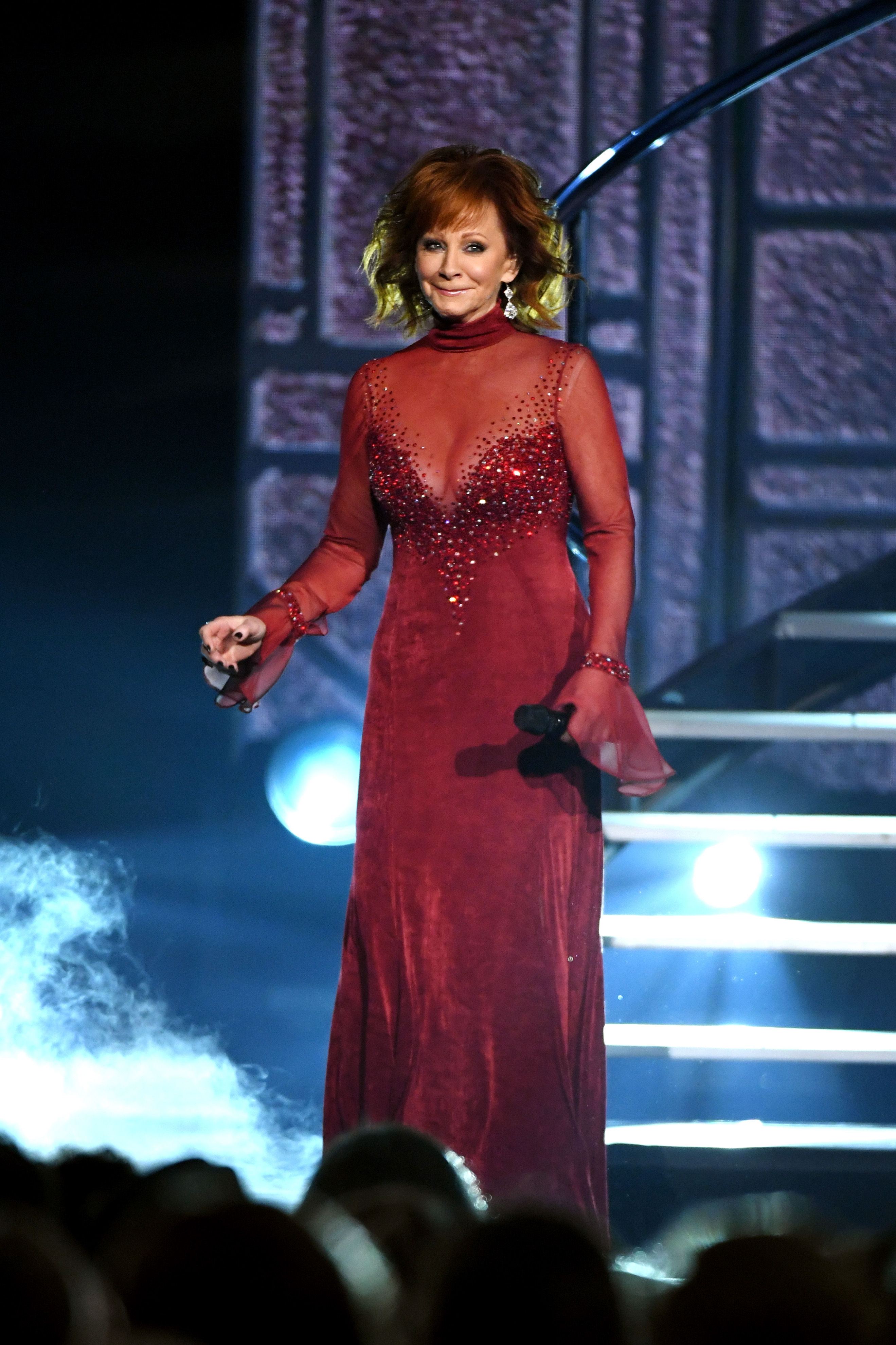 Reba-McEntire-Sizzles-In-Sheer-Dress-She-Wore-25-Years-Ago-To-Perform-Does-He-Love-You
