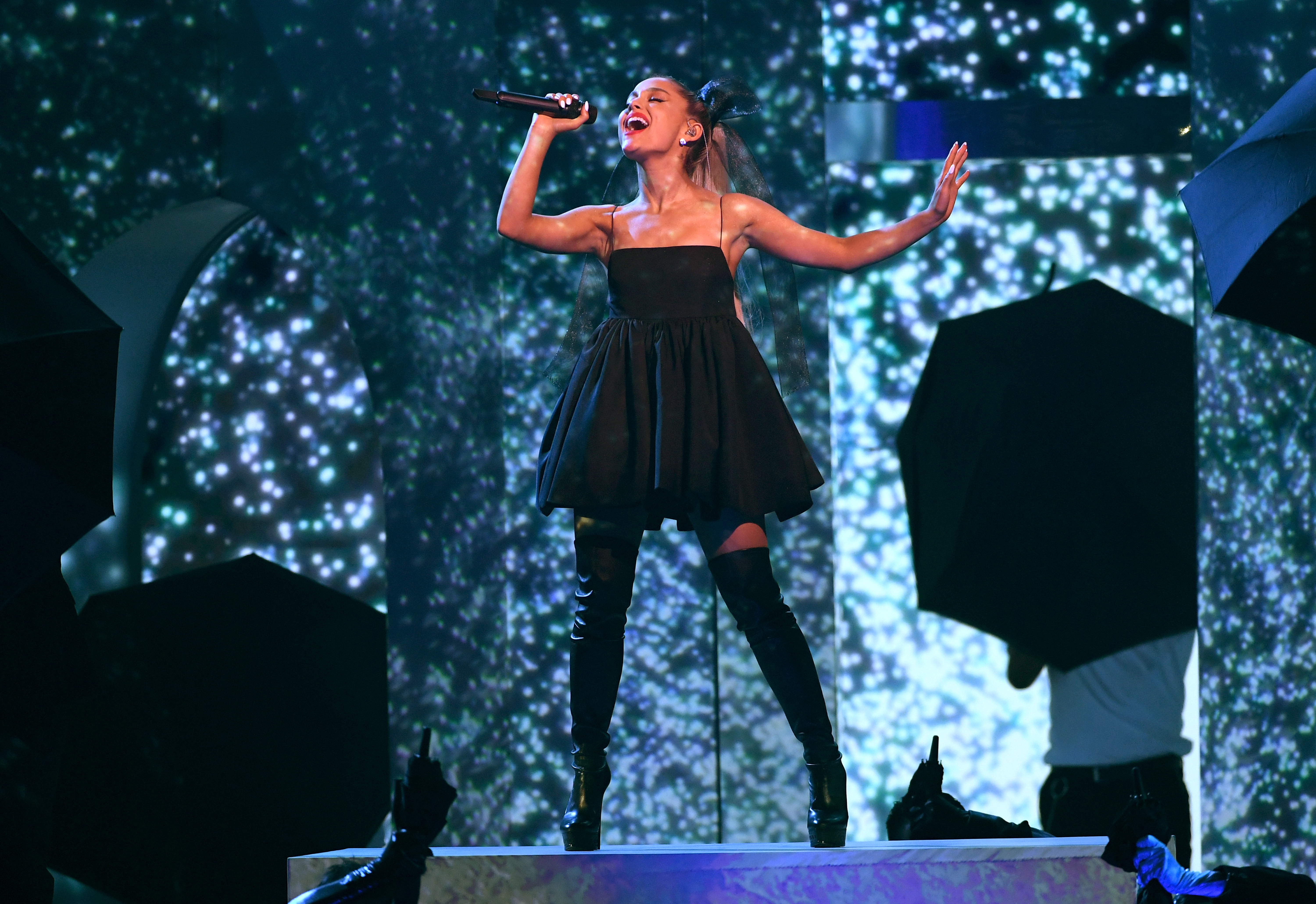 Ariana Grande Gets Taylor Swift, Shawn Mendes, BTS, and John