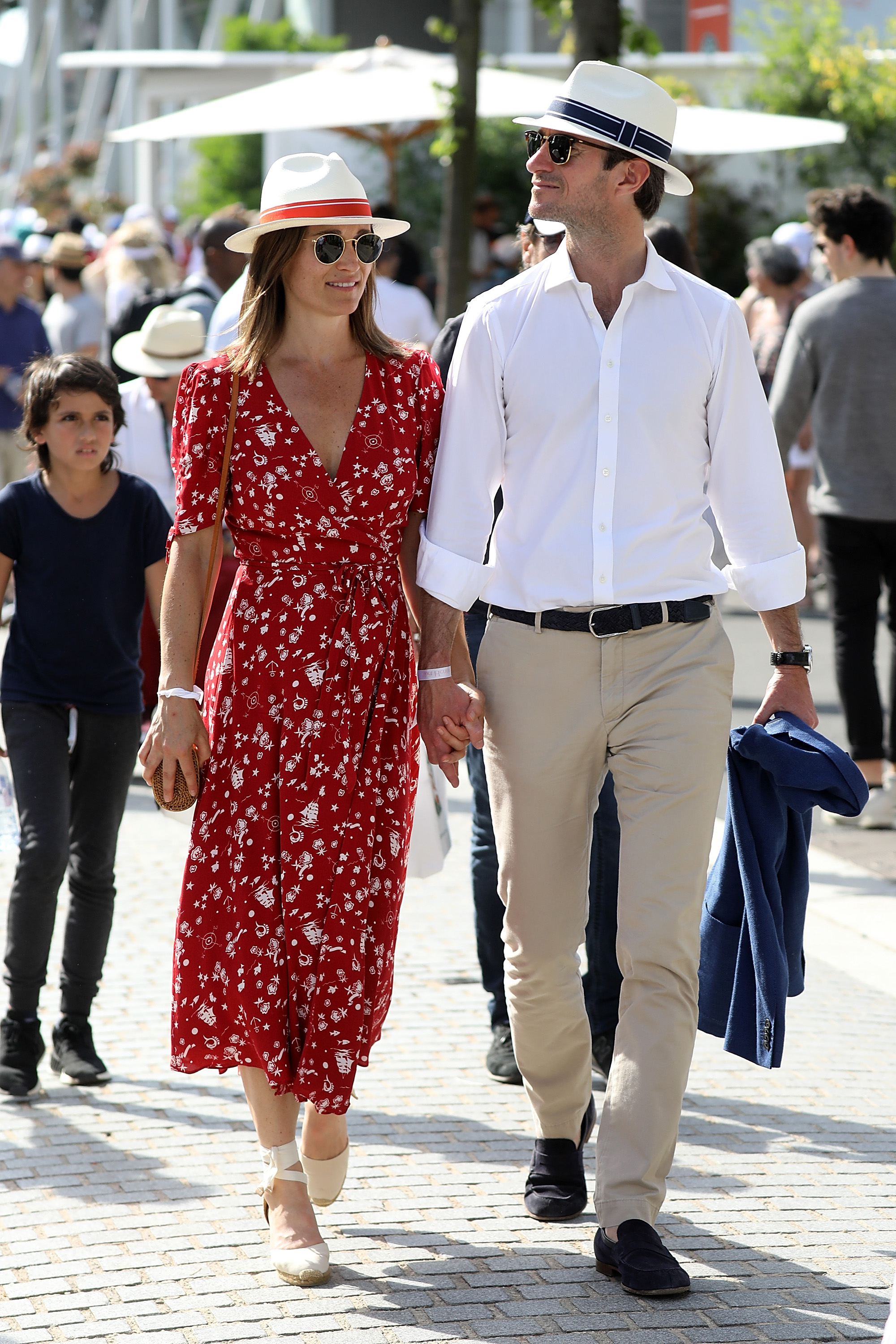 Pippa Middleton At The 2018 French Open