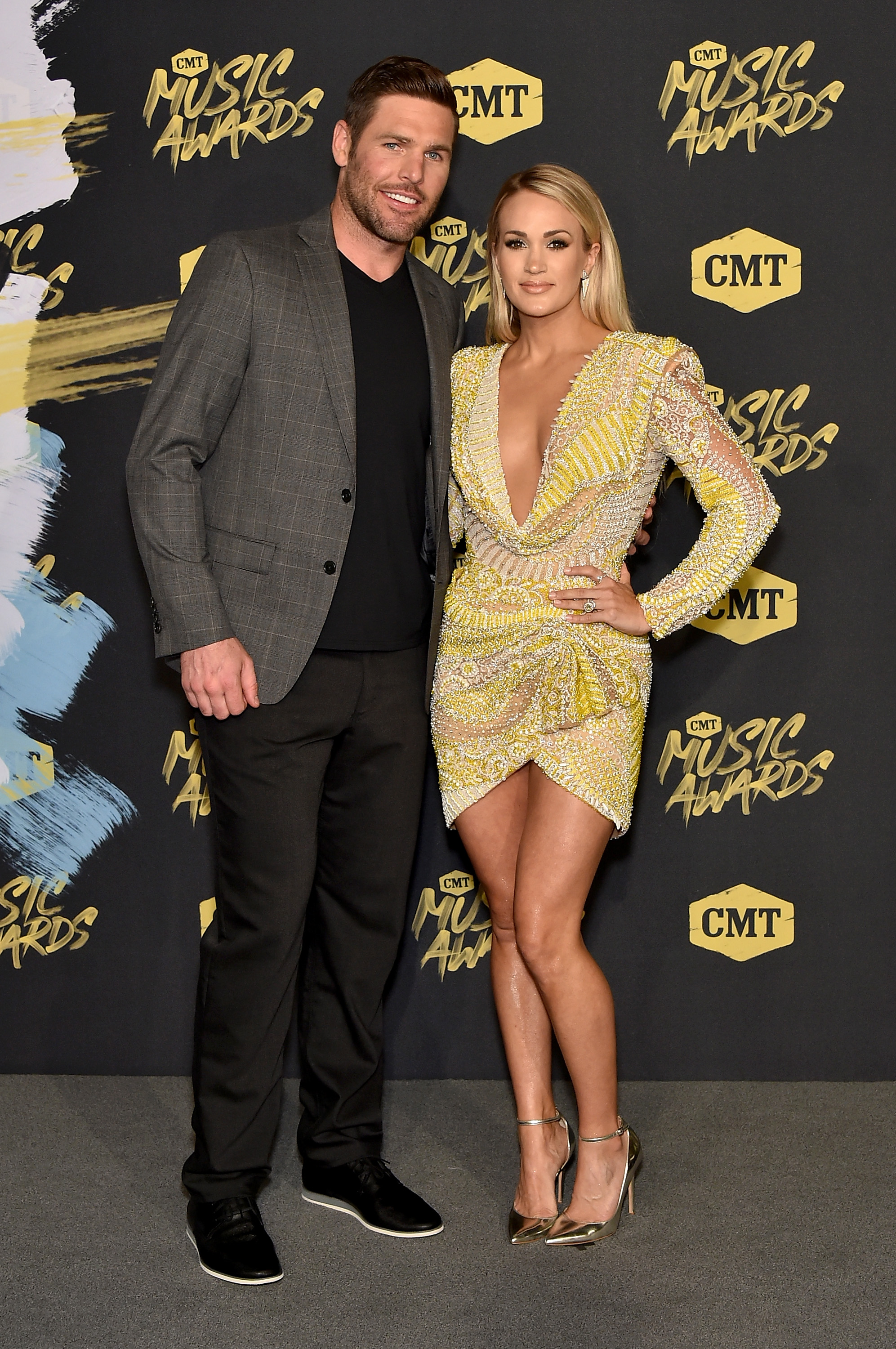 Carrie-Underwood-and-Hubby-Mike-Fisher-Sizzle-At-2018-CMT-Music-Awards