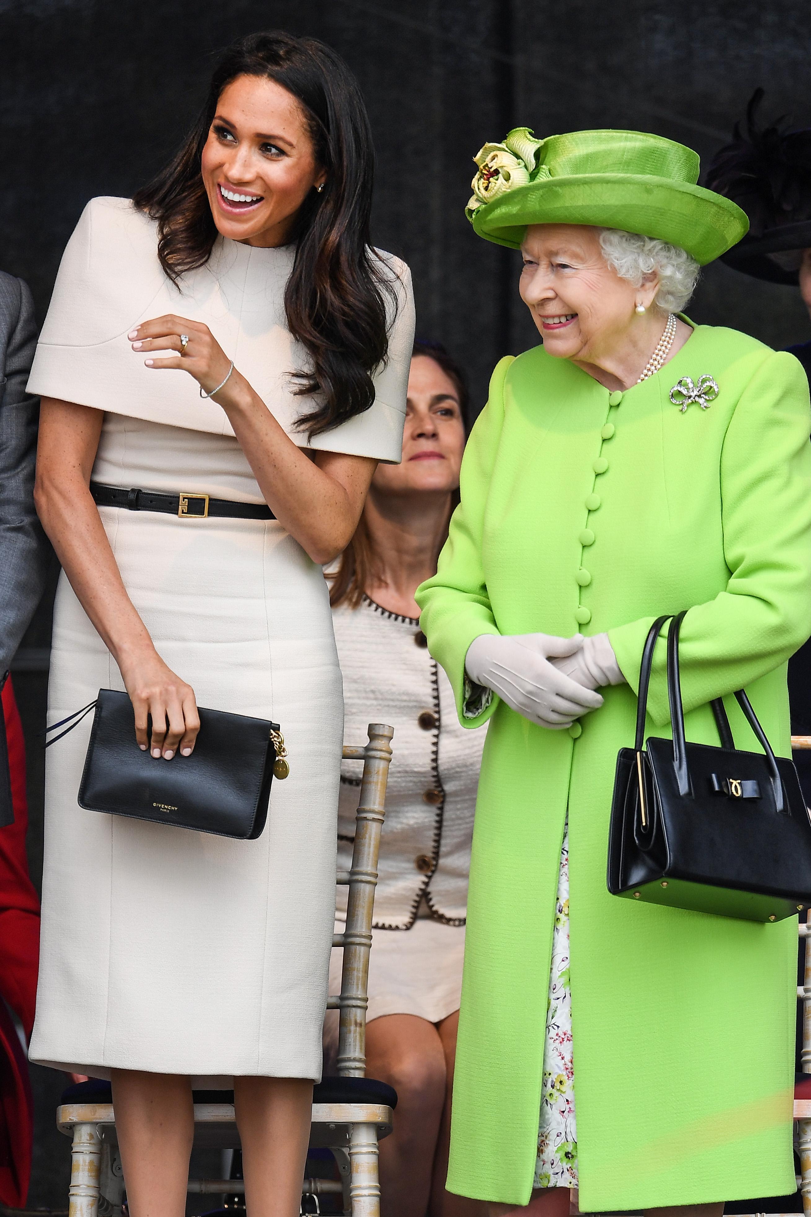 Queen Elizabeth II &  Meghan Markle