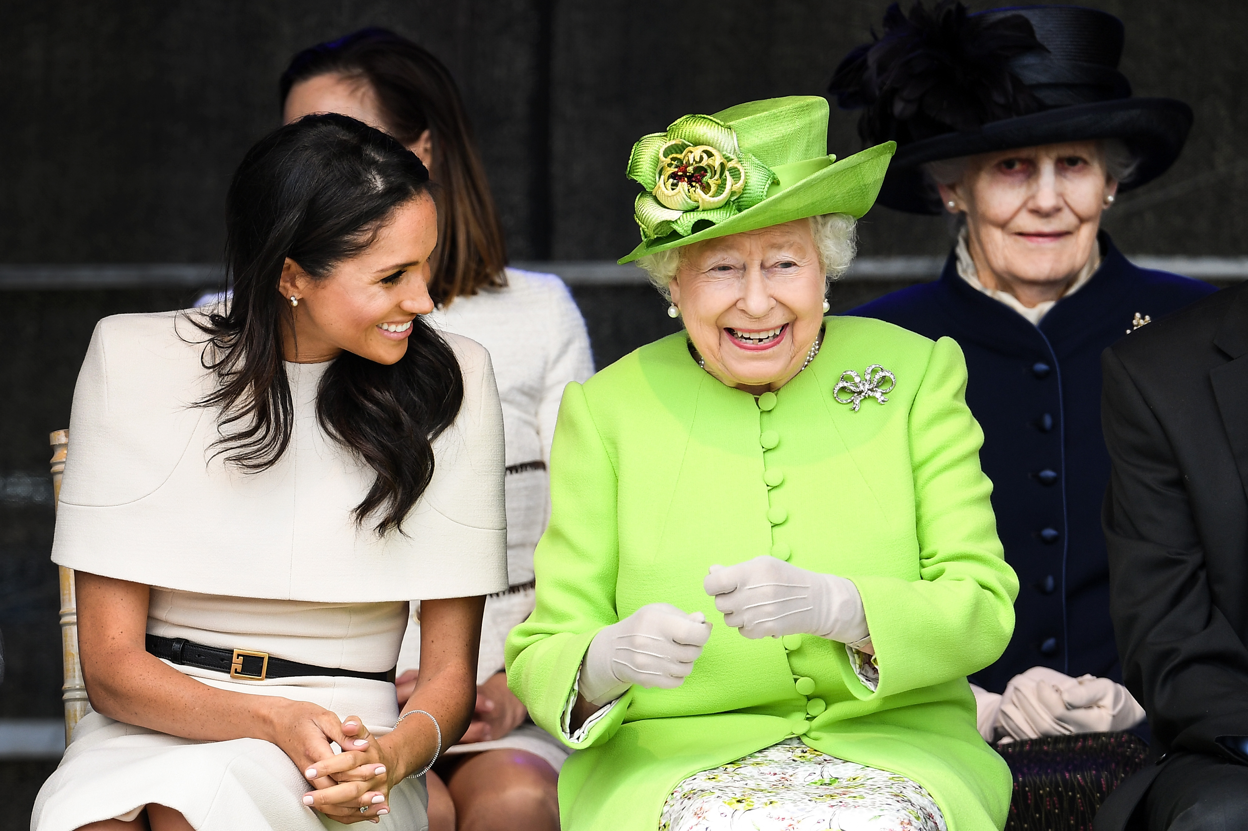 Meghan-Markle-Shares-Several-Laughs-With-Queen-Elizabeth-II-In-First-Solo-Appearance-Together