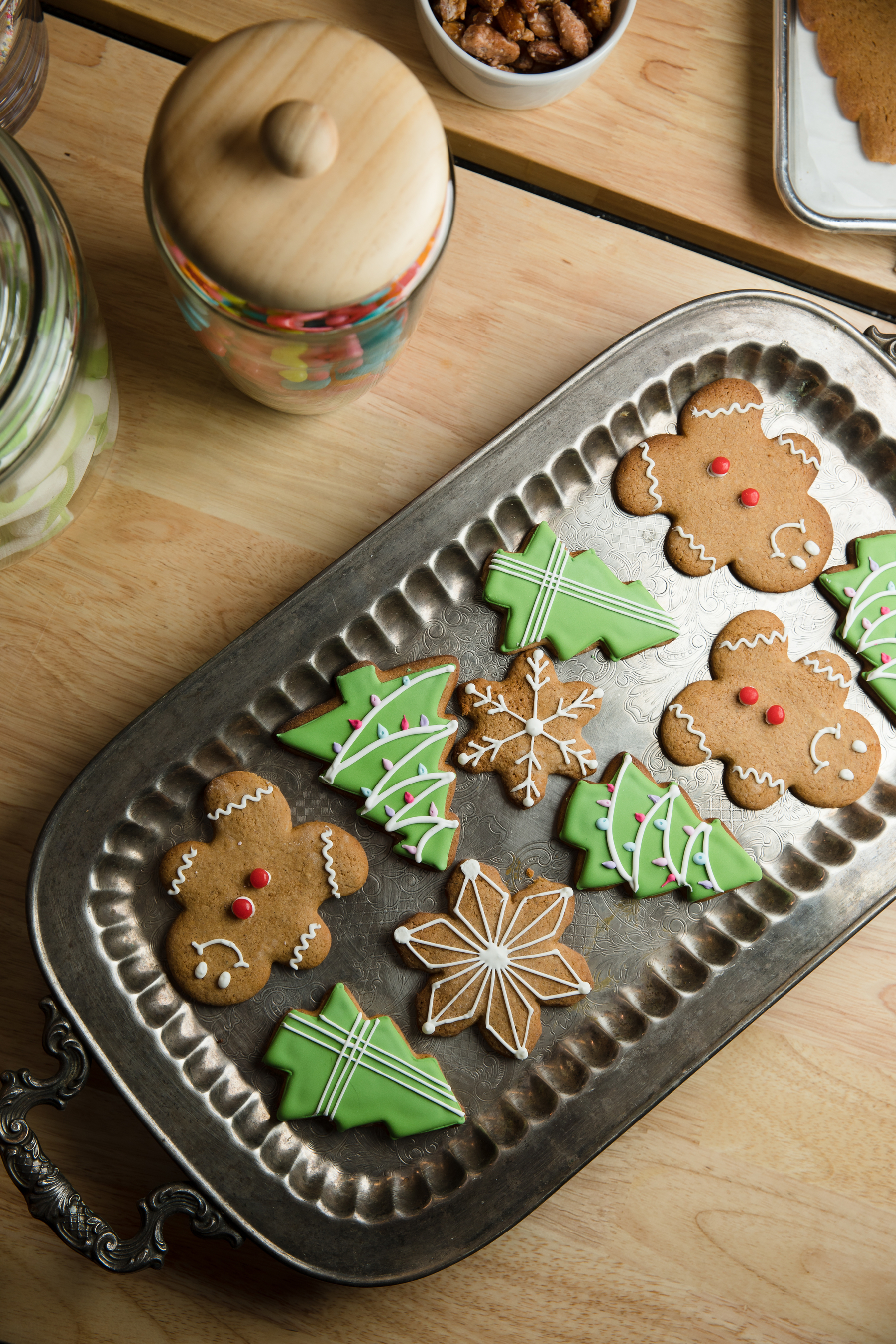 Gingerbread cookies, as seen on 'Baked in Vermont'