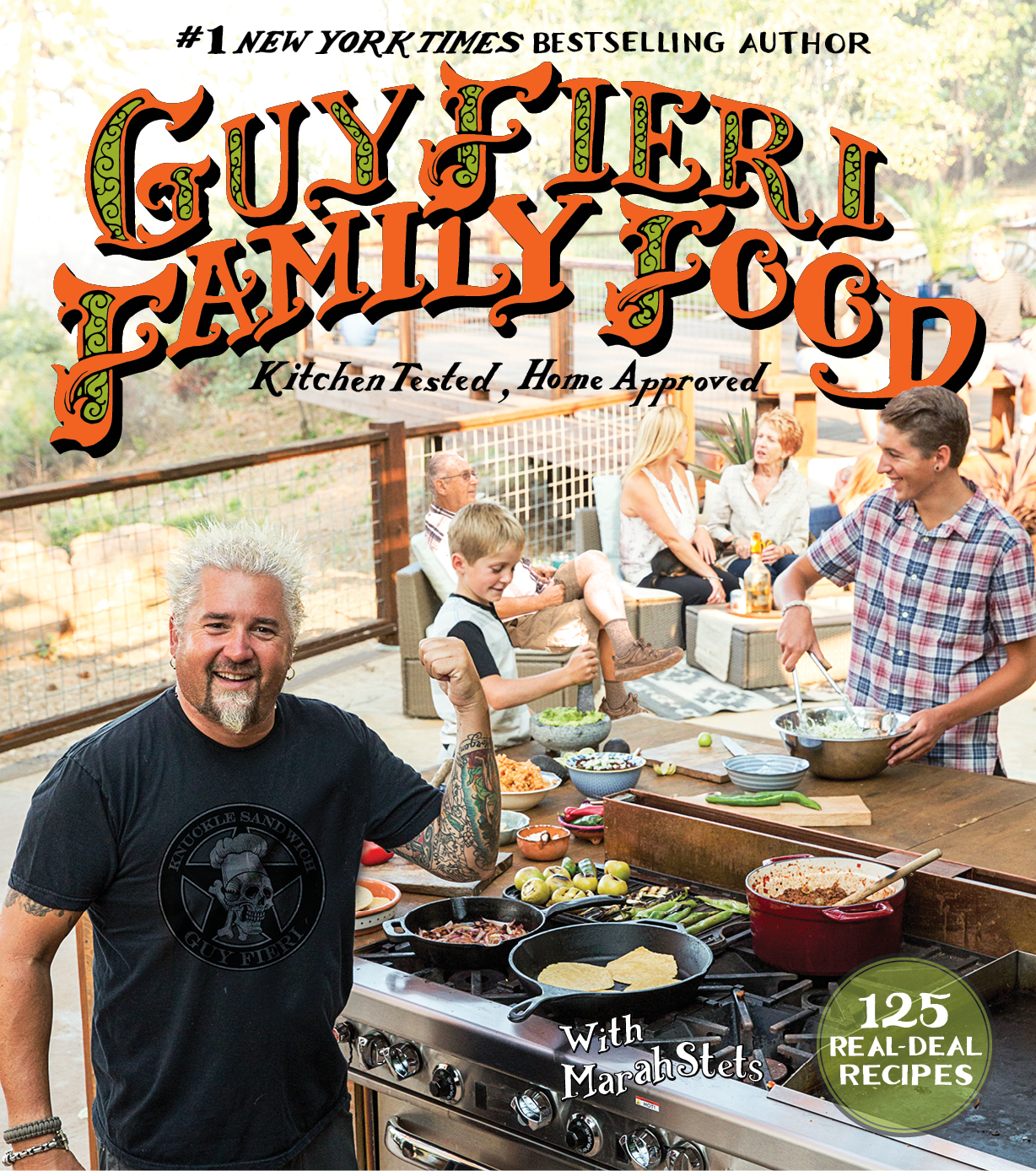 Guy Fieri S New Recipe Book Is All About The Meals He Makes For His Family Access Online