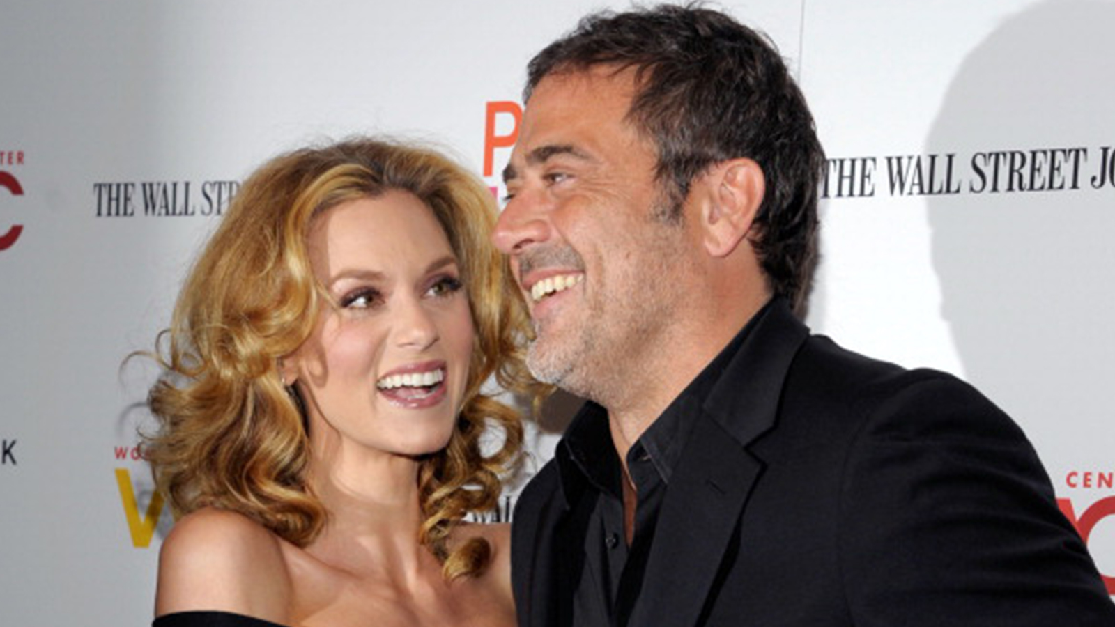 Hilarie Burton and Jeffrey Dean Morgan 2012