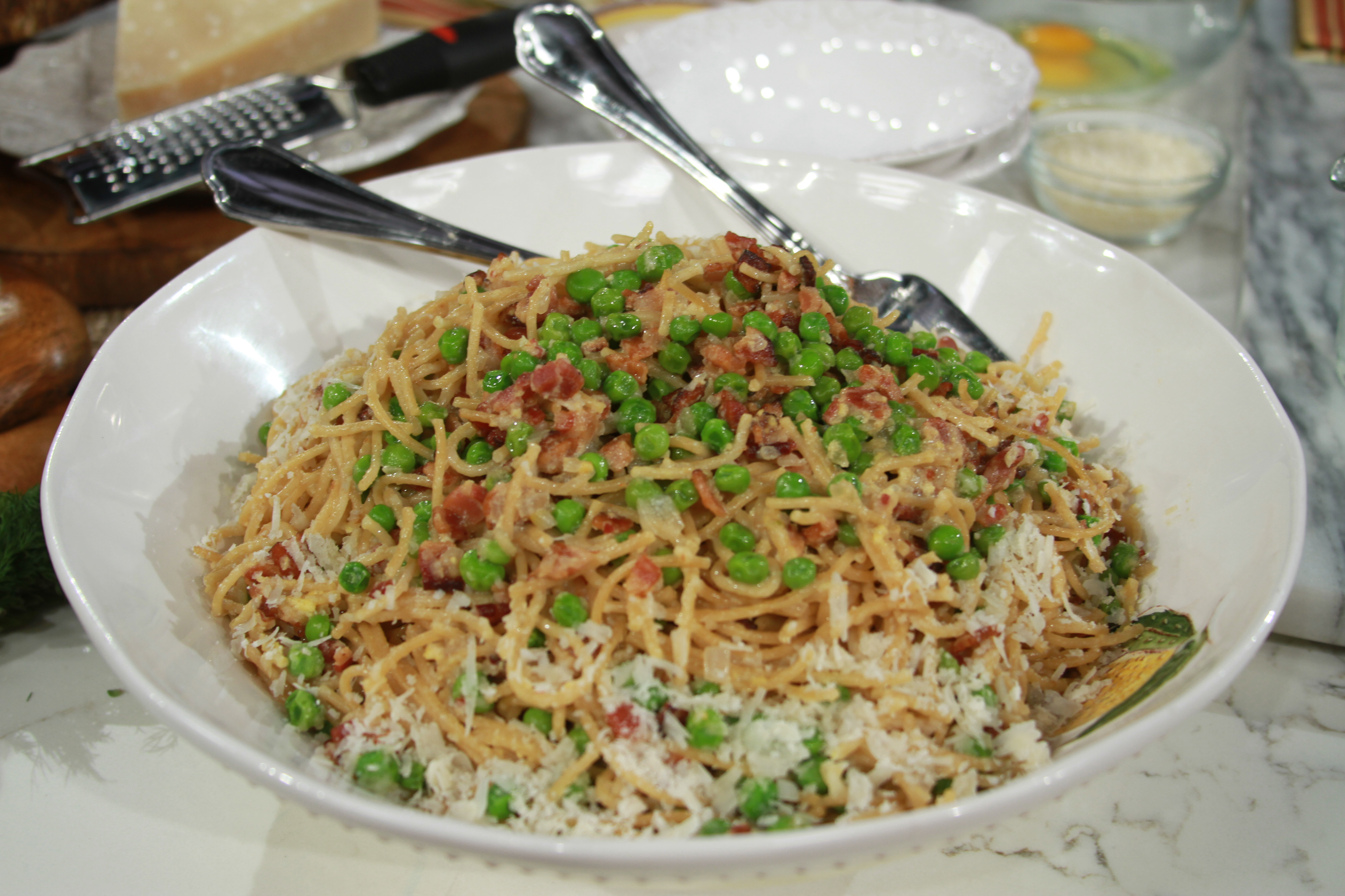 Natalie Morales Cookbook Spaghetti