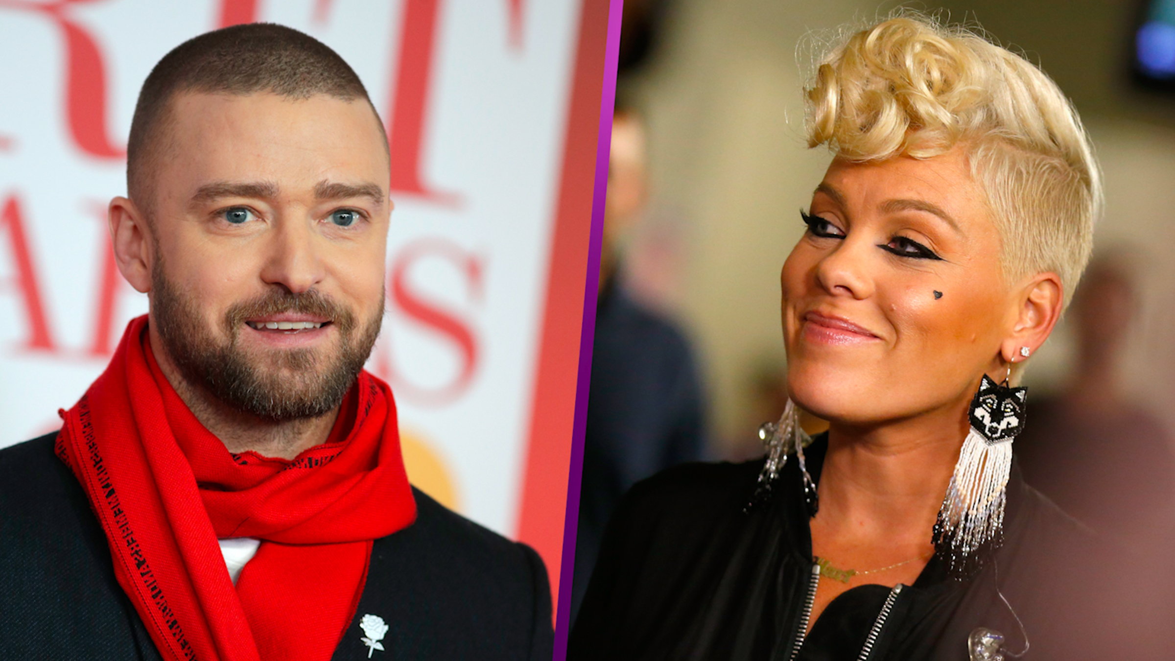 Justin Timberlake Supports Pink After She Cancels Tour Date Due To Illness: 'You Won't Find A Harder Working' Artist