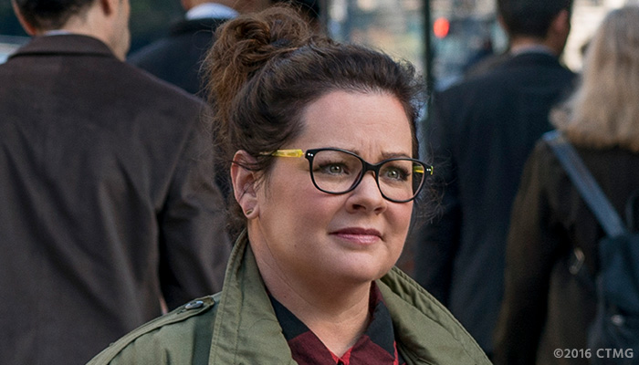 Melissa McCarthy in a photo from the 'Ghostbusters' reboot on Feb. 3, 2016