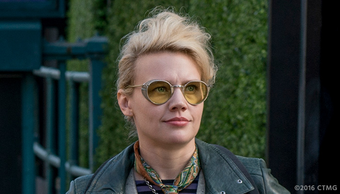 Kate McKinnon in a photo from the 'Ghostbusters' reboot on Feb. 3, 2016