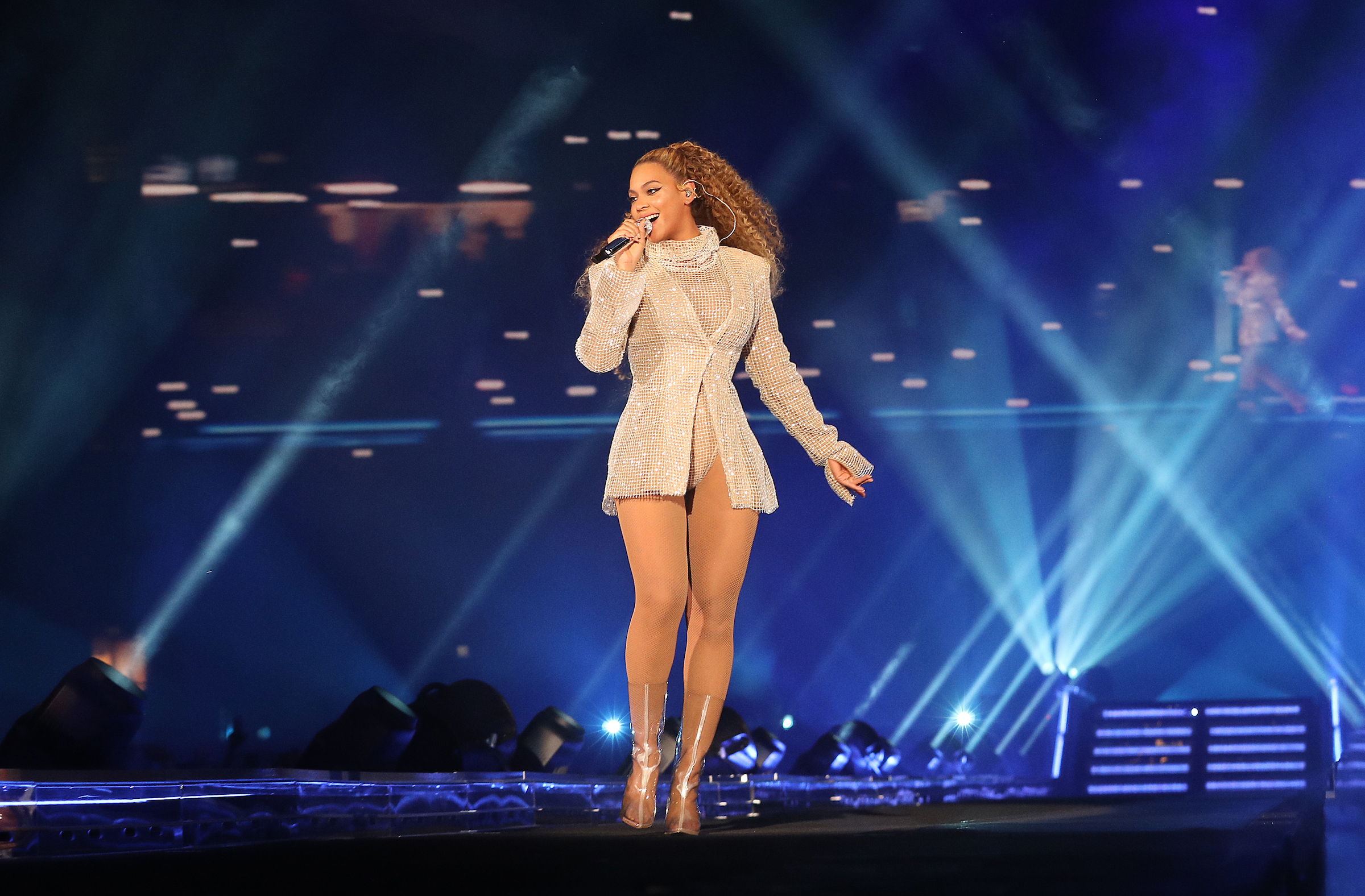 Beyonce performs on the opening night of the 'On The Run II' tour at Principality Stadium on June 6, 2018 in Cardiff, Wales, UK. (Photo by Robin Harper/Parkwood/PictureGroup)
