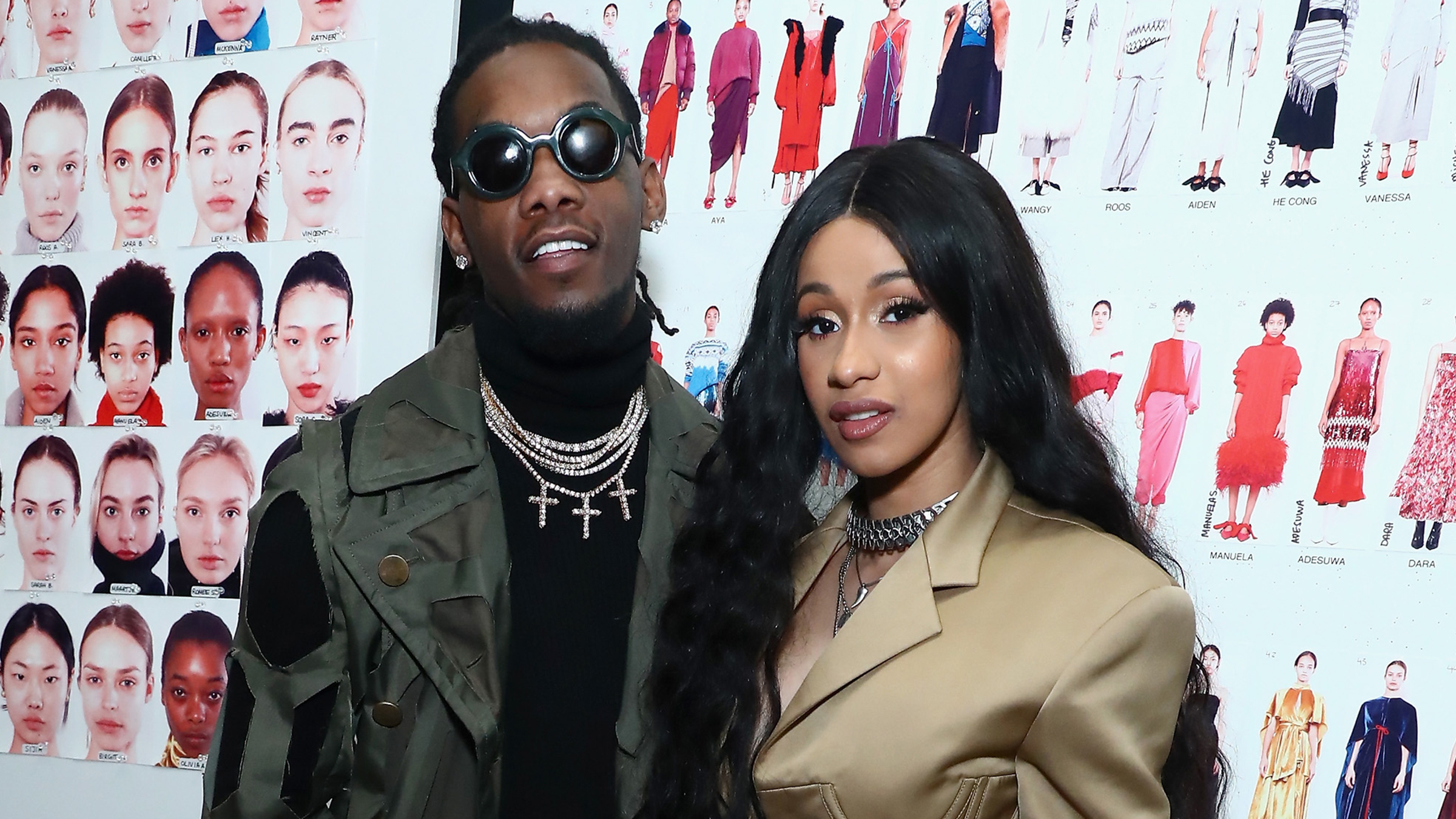 Offset Gets His & Cardi B's Daughter's Name Tattooed On