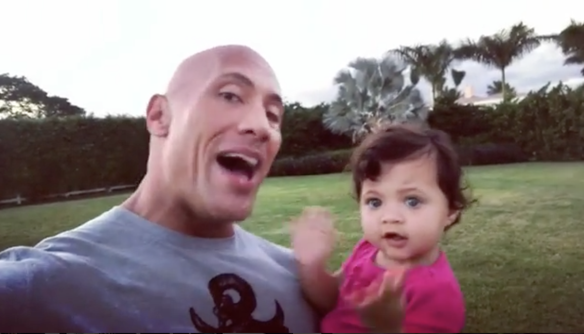 Dwayne Johnson Shares Adorable Life Lessons For Baby