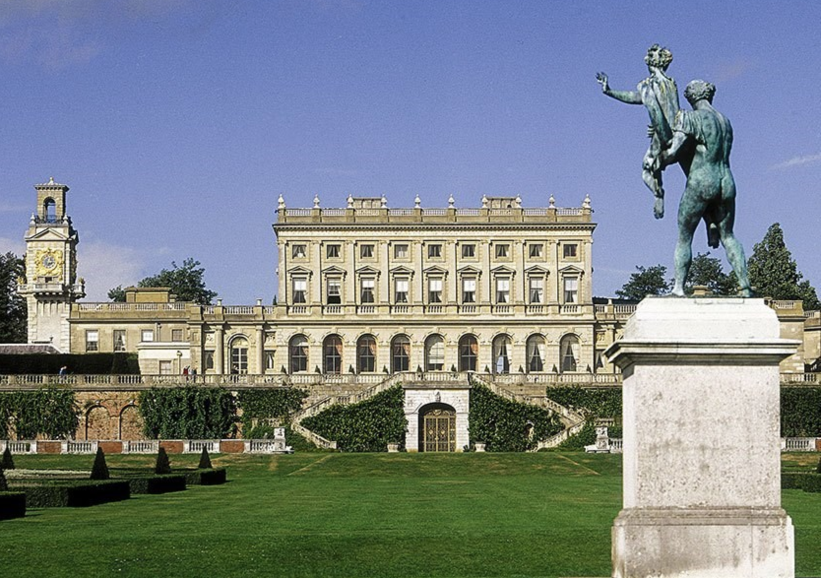 Cliveden House was built in 1666 by the 2nd Duke of Buckingham, as a gift to his mistress, Cliveden House has remained a pinnacle of intrigue and glamour for the elite, according to the hotel's website. (Credit: Cliveden House)