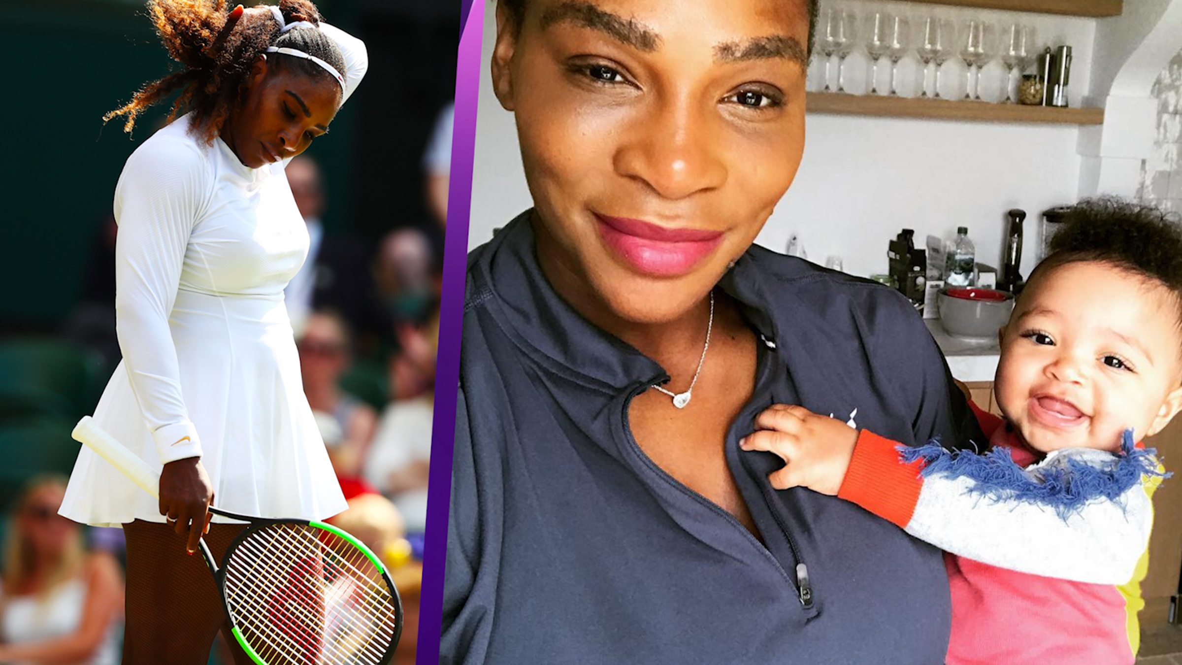 Serena Williams 'Cried' After Missing Her Daughter's First Steps While Training At Wimbledon Read more at http://www.accessonline.com/articles/serena-williams-cried-after-missing-her-daughters-first-steps-while-training-wimbledon/#xxzhLJ2YhBysICEp.99