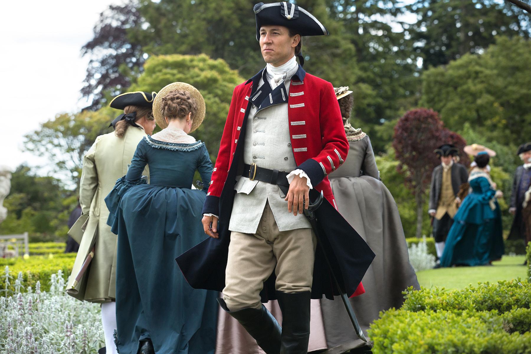 Tobias Menzies as Black Jack Randall in 'Outlander' Season 2, Episode 5