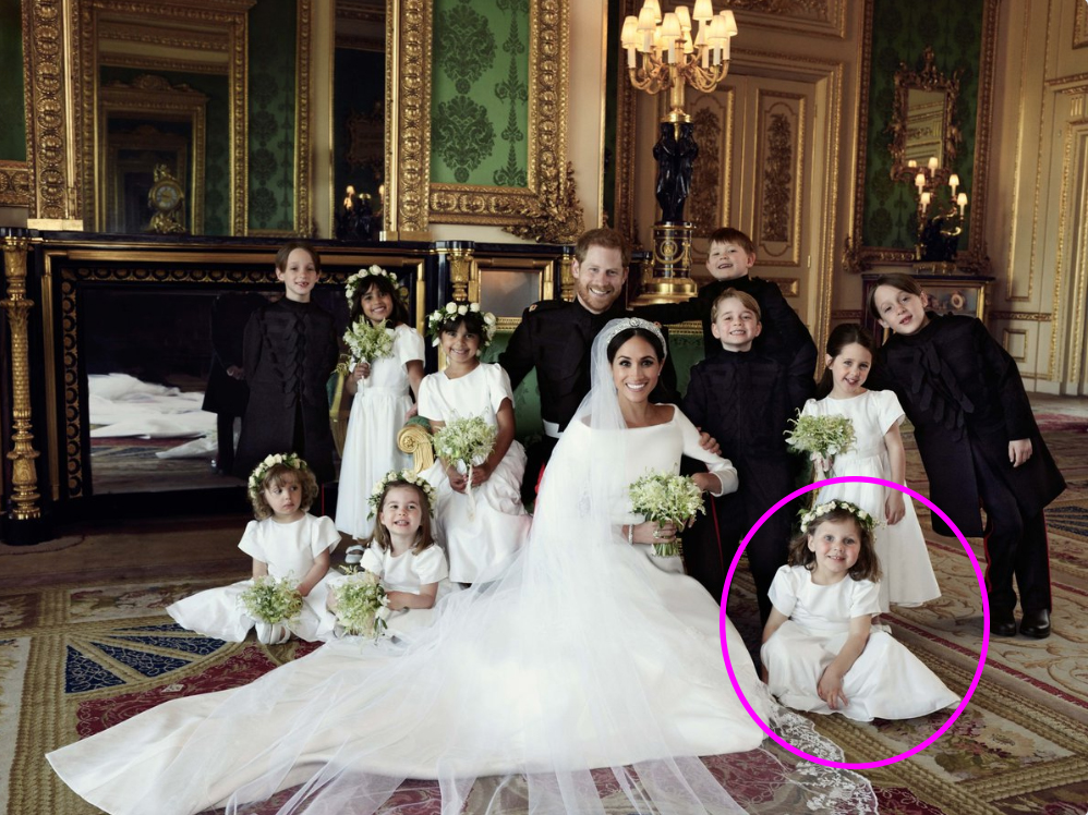 Did you catch this mistake in Prince Harry and Meghan Markle's wedding photos? (Credit: Kensington Palace)