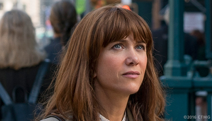 Kristen Wiig in a photo from the 'Ghostbusters' reboot on Feb. 3, 2016