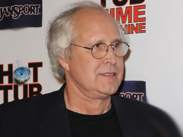 Dish Of Salt: Chevy Chase At LA 'Hot Tub Time Machine' Premiere – 'I Can't Remember Anything' About The '80s