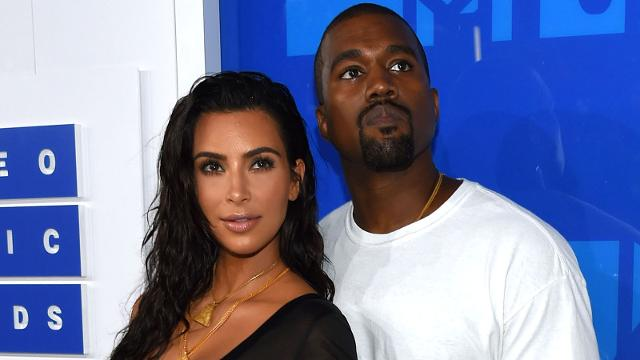 Kim Kardashian & Kanye West Get A Special Delivery After His New York Fashion Week Show