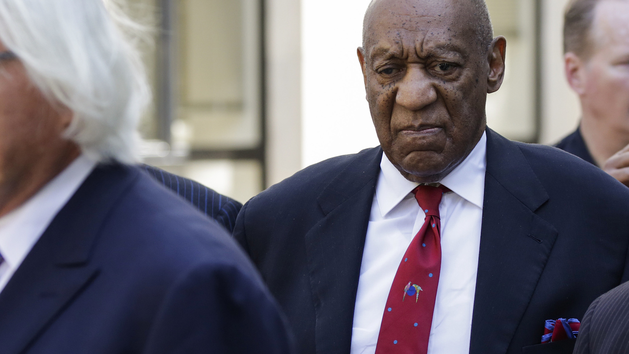 Bill Cosby's Walk Of Fame Star Vandalized With 'Serial Rapist' Scribbled On It