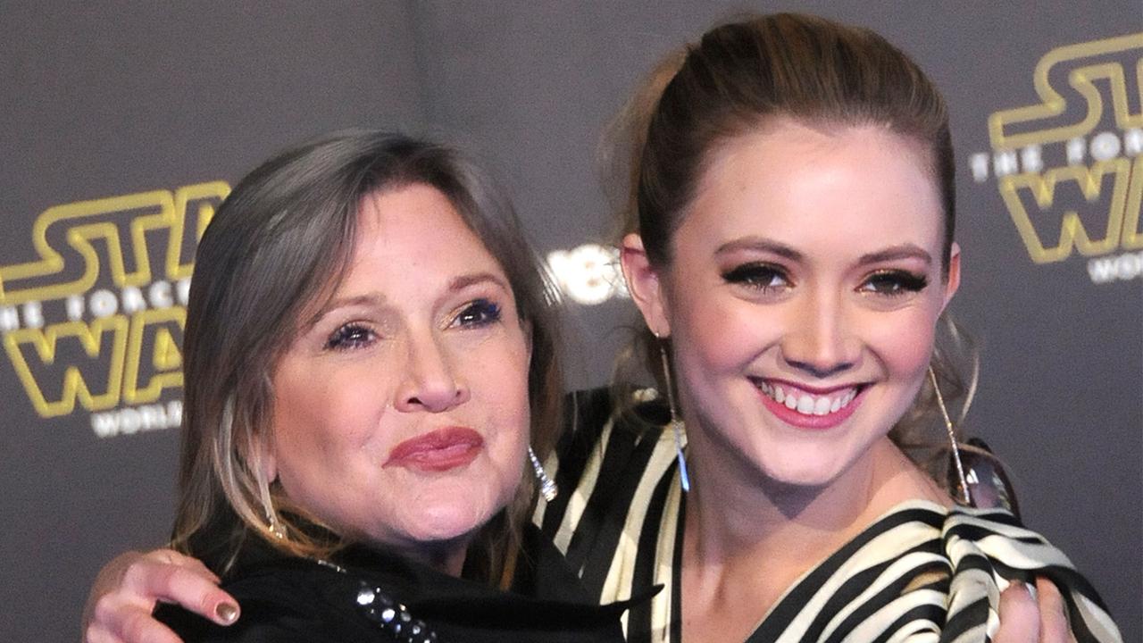 Billie Lourd Honors Mom Carrie Fisher's Posthumous 2018 Grammy Win With Heartfelt Tribute