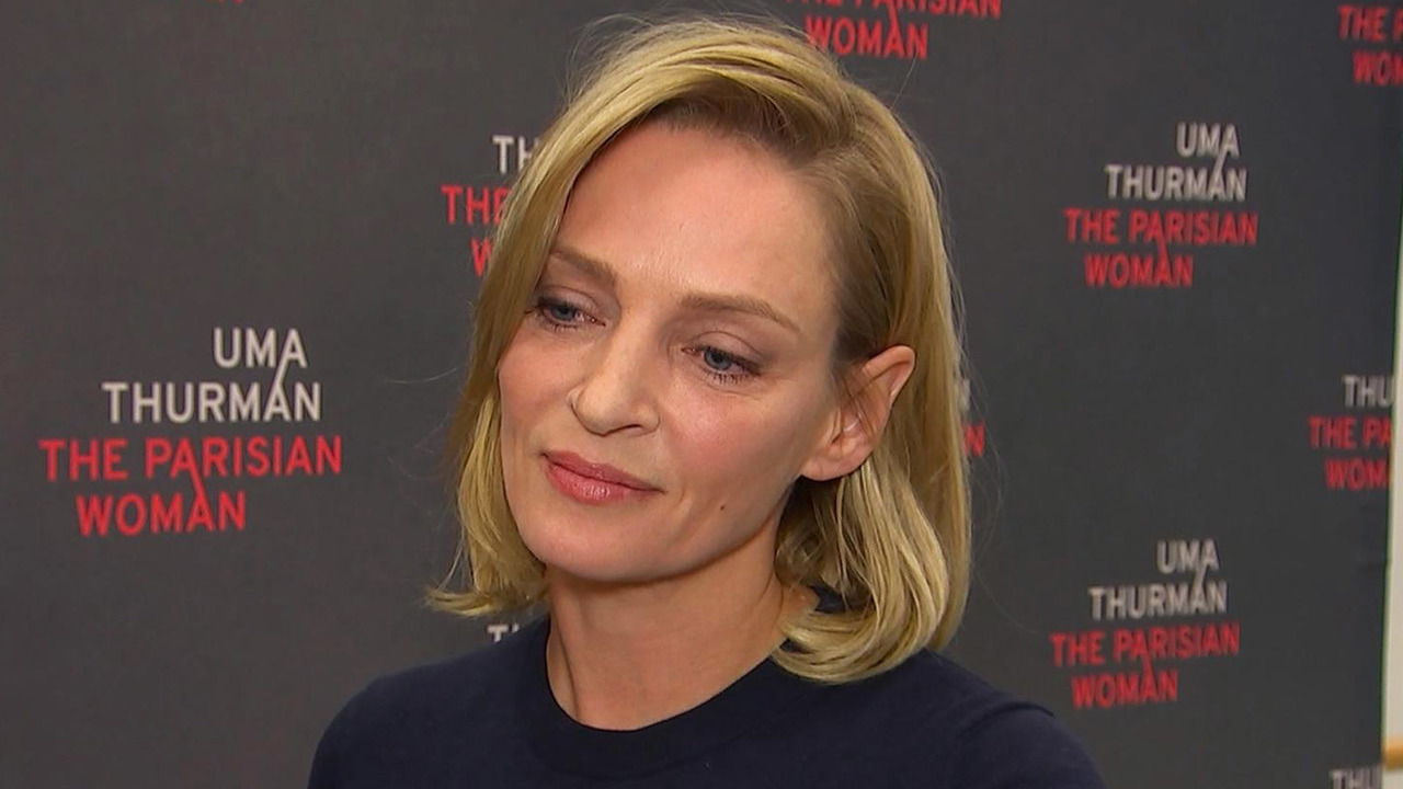 Uma Thurman Speaks Out About Harvey Weinstein He Pushed