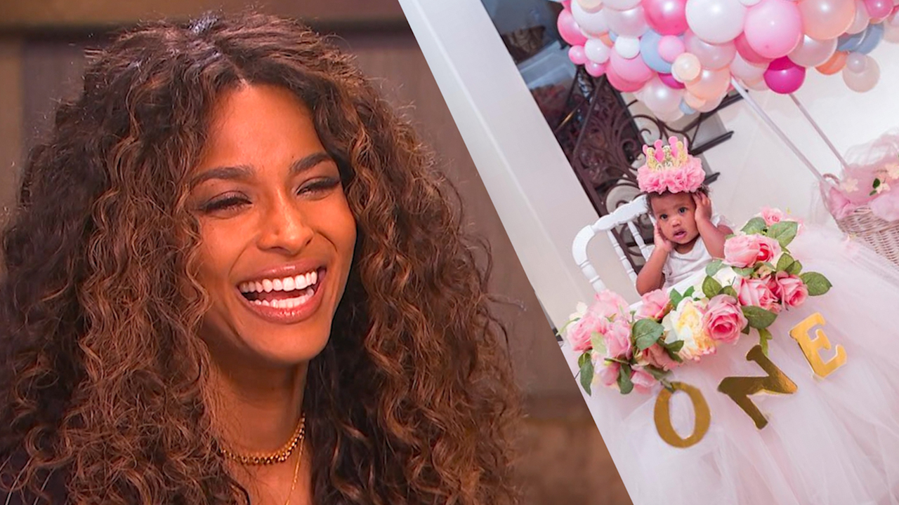 Ciara Dishes On Celebrating Daughter Sienna's 1st Birthday & Parenting With Hubby Russell Wilson