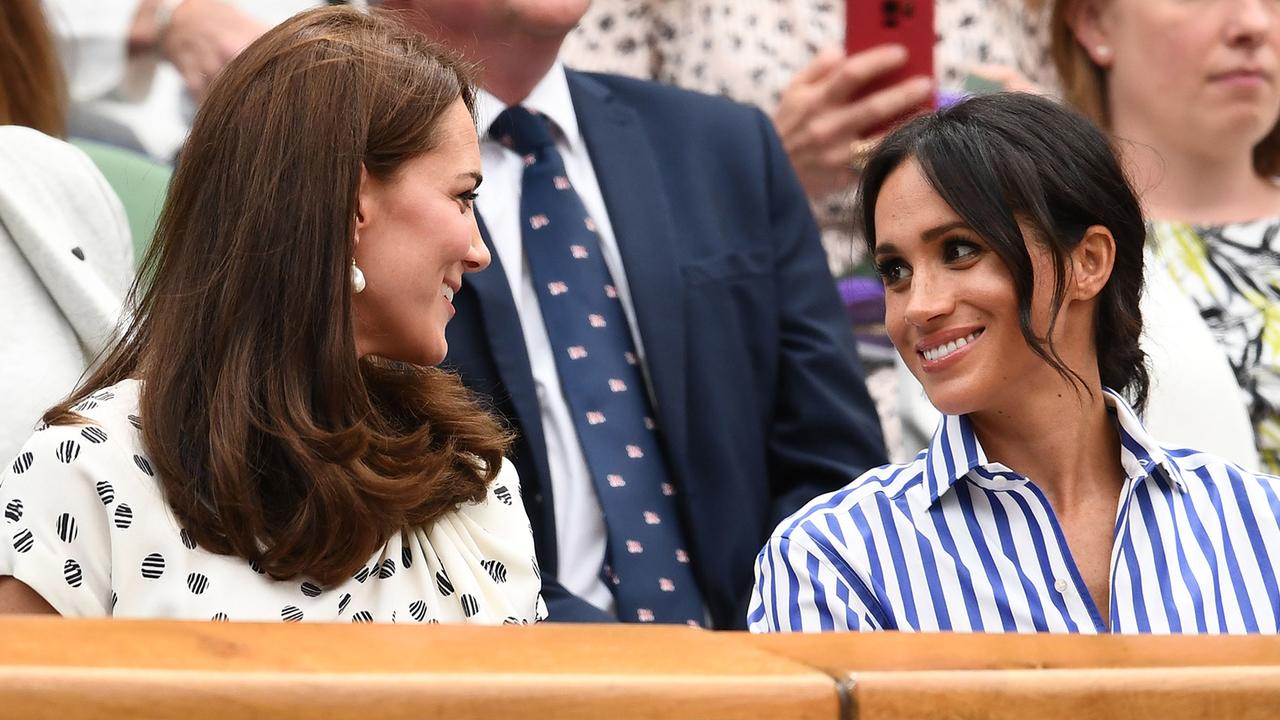 Kate Middleton & Meghan Markle Hit Wimbledon & Watch Serena Williams' Match!