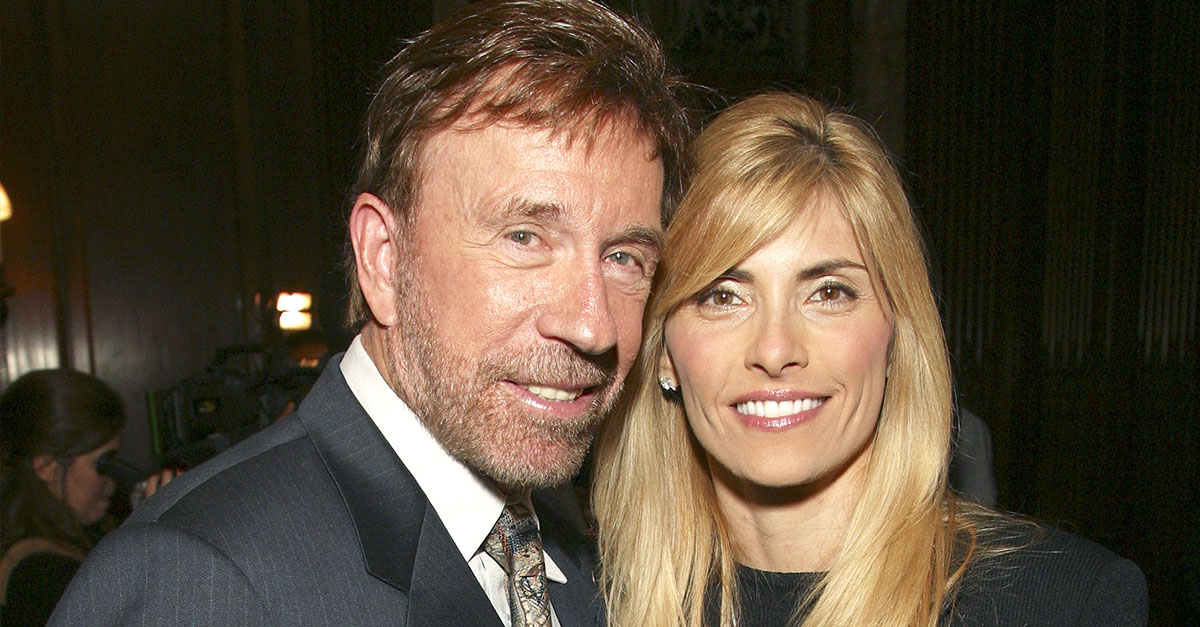 Chuck Norris and his Wife Gena during Chuck Norris Host's The Launch Party For Jerry Jenkins' Solo Faith Based Novel Soon: The Beginnig of the End at New York Public Library in New York City