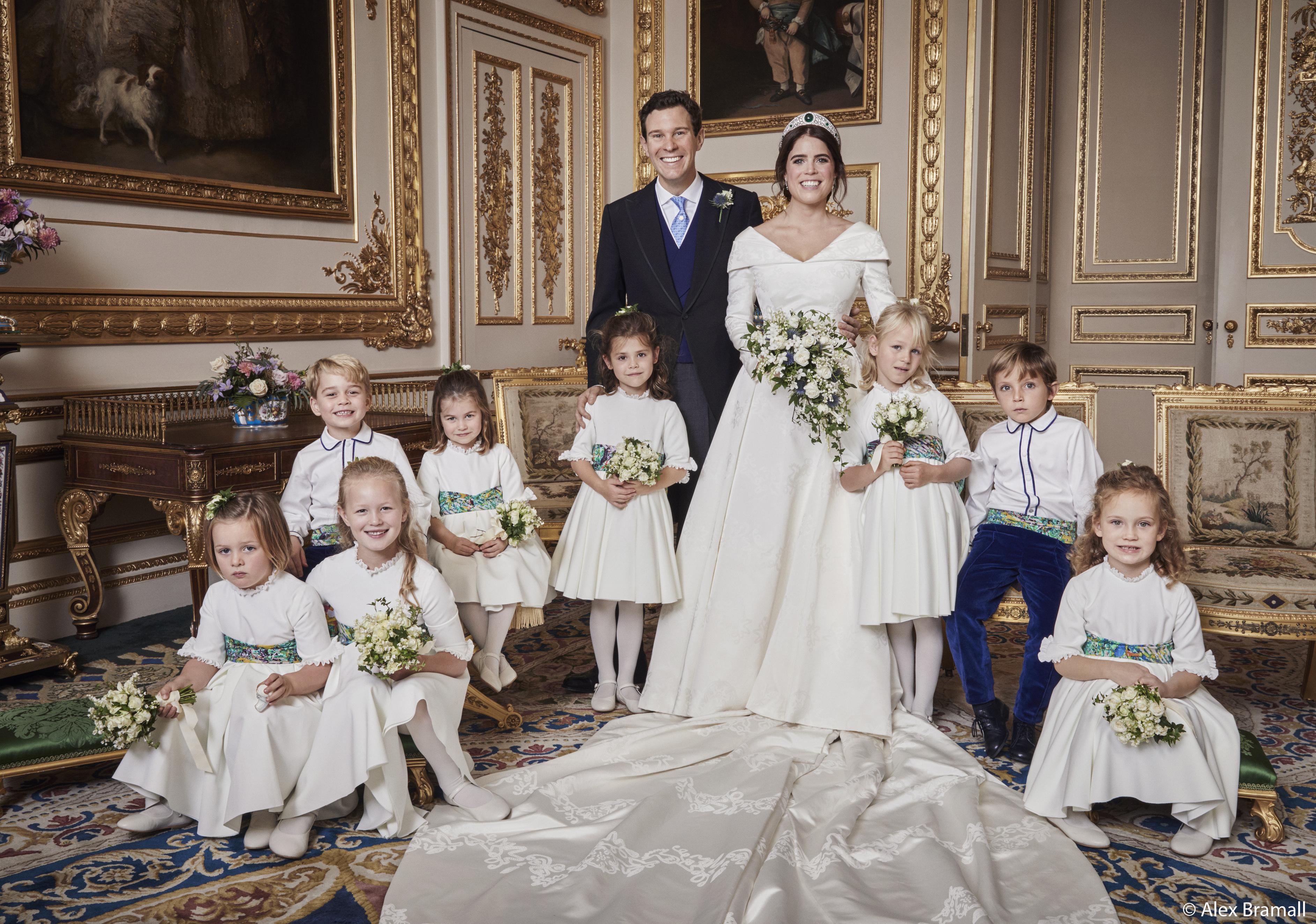 Princess Eugenie & Jack Brooksbank's Official Wedding