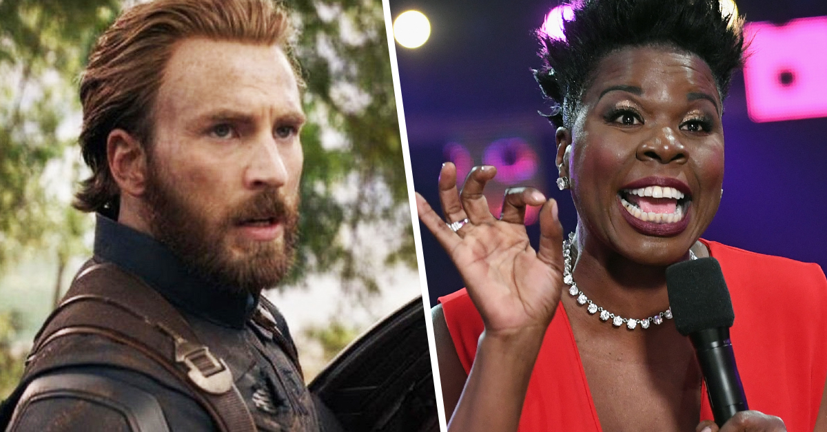 Leslie Jones Thirsts Over Chris Evans In 'Avengers': 'Captain America, You Are Fine As F**k'