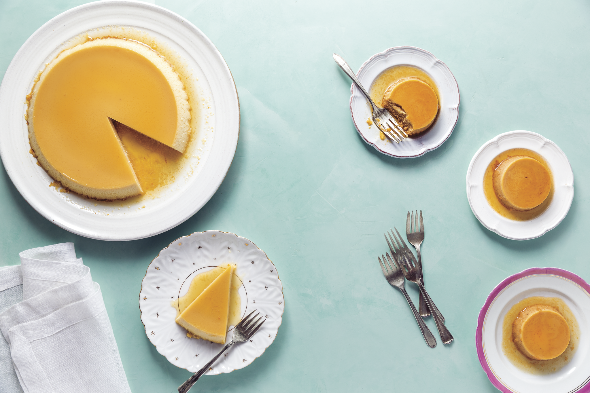 Natalie Morales Cookbook Basic Flan