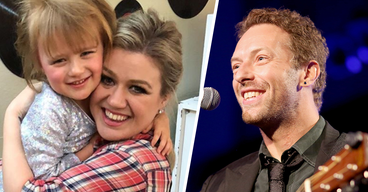 Kelly Clarkson's 4-Year-Old Daughter Is Crushing On Coldplay's Chris Martin, Adorably Sings 'Yellow'