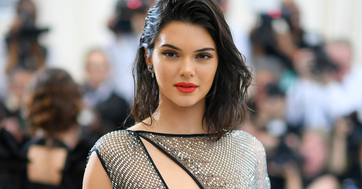 Kendall Jenner attends the 'Rei Kawakubo/Comme des Garcons: Art Of The In-Between' Costume Institute Gala at Metropolitan Museum of Art on May 1, 2017 in New York City