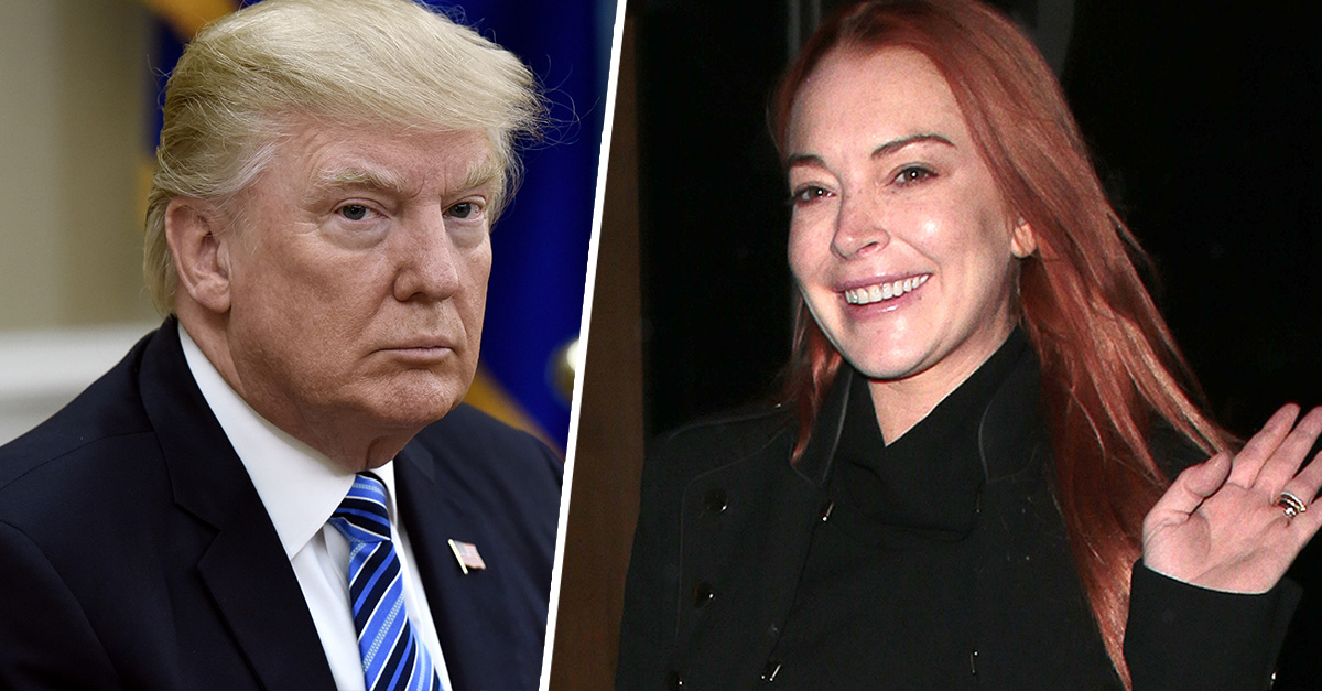 Lindsay-Lohan-Offers-President-Donald-Trump-Legal-Help-Will-Speak-At-Harvard