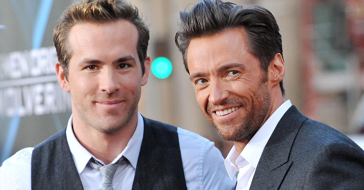 Ryan Reynolds & Hugh Jackman