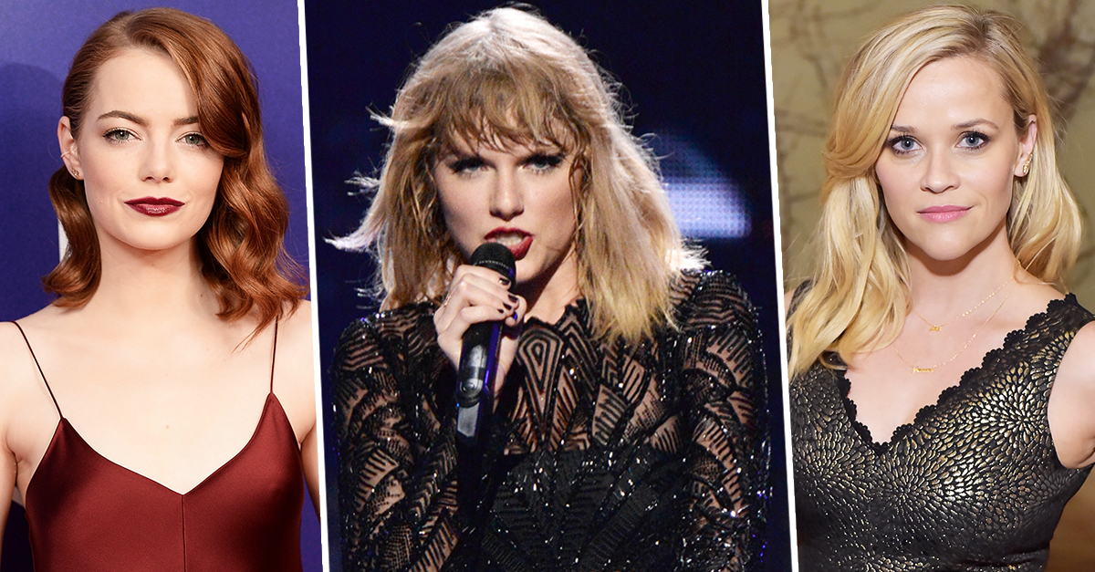 Taylor-Swift-Reese-Witherspoon-Emma-Stone-More-Donate-To-Fight-Harassment