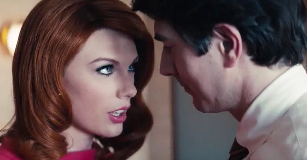 Taylor-Swift-Plays-A-Red-Headed-Seductress-In-Sugarlands-New-Music-Video-–-5-More-Times-She-Wigged-Out