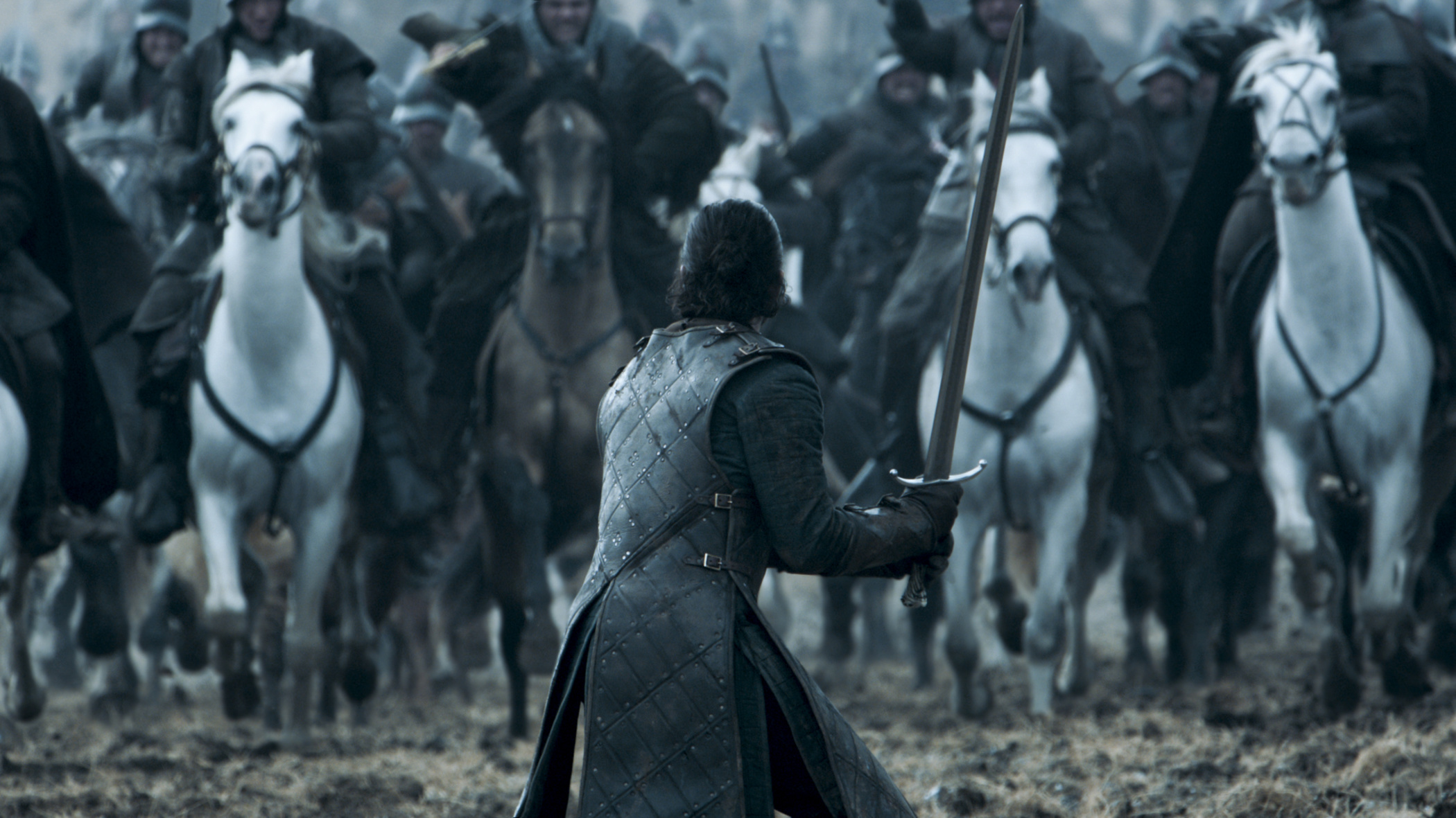 Kit Harington as Jon Snow in 'Game of Thrones' Season 6, Episode 9