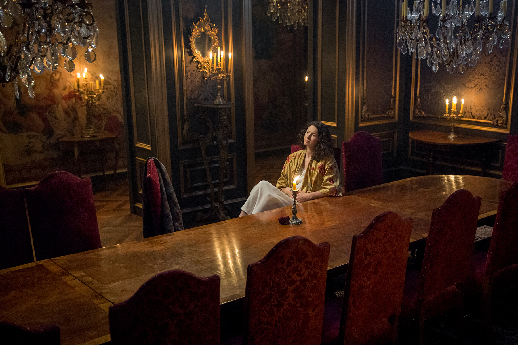 Outlander': Scenes From Season 2, Episode 4 -- 'La Dame