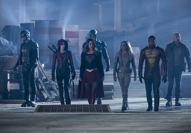 The Flash' Season 3: Pics From The Crossover, Episode, 8