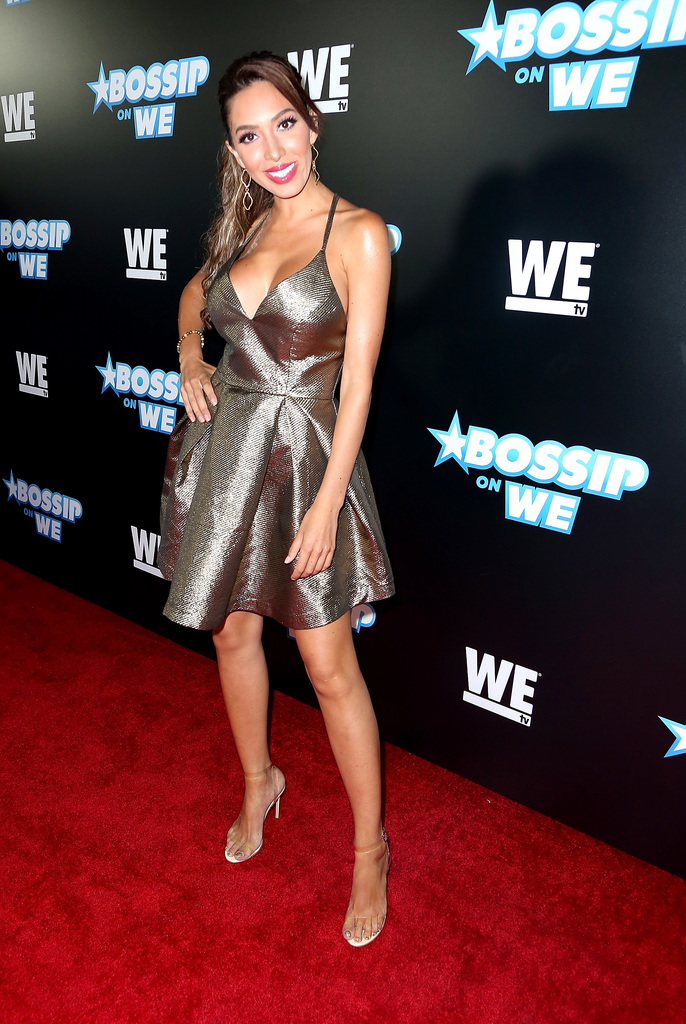 Farrah Abraham attends Bossip Best Dressed List Event on July 31, 2018 in Los Angeles, California
