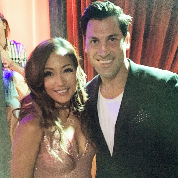 Carrie Ann Inaba's 'Dancing With the Stars' blog, Week 4 pic — Carrie Ann with Maksim Chmerkovskiy