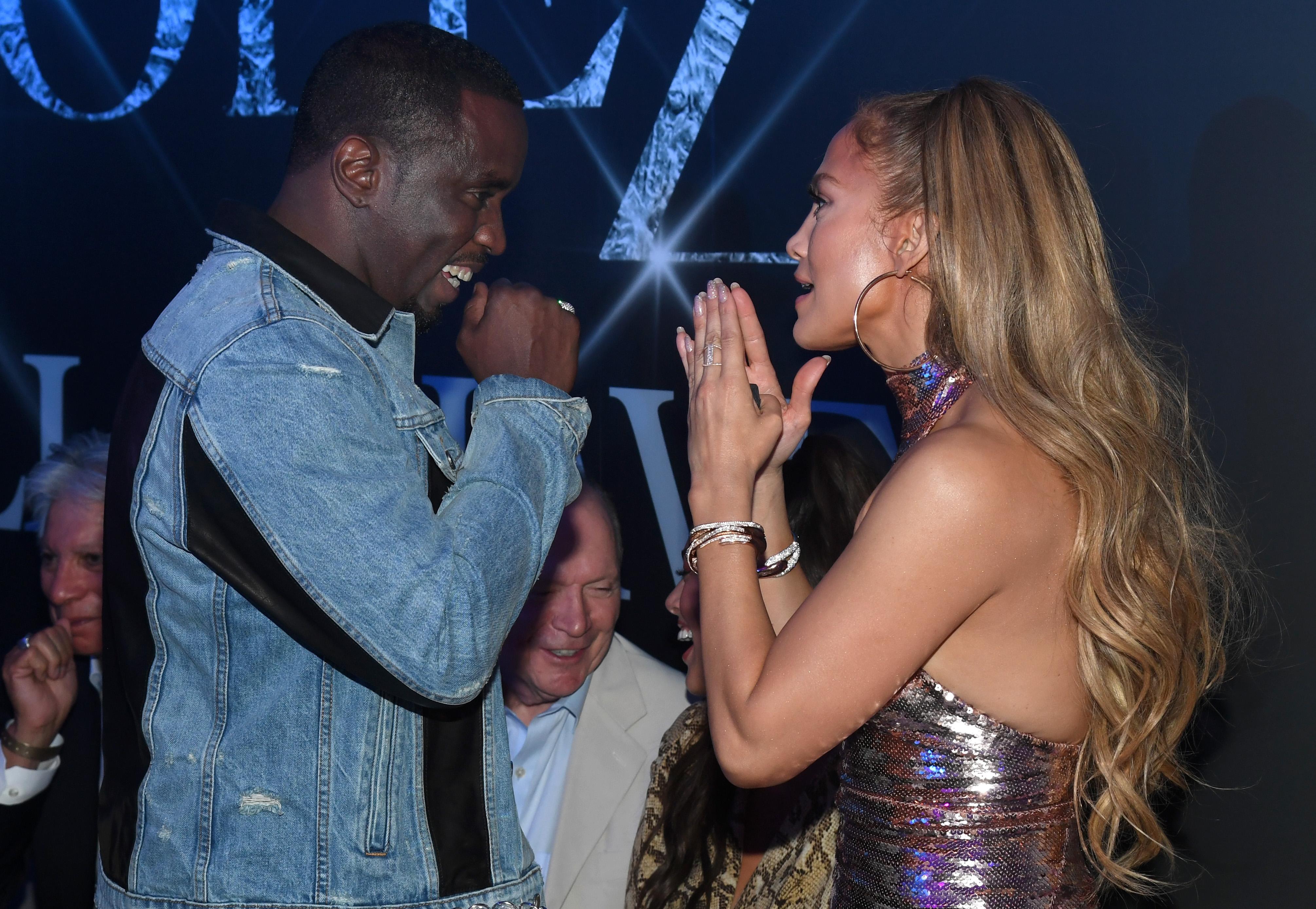 Diddy & Jennifer Lopez