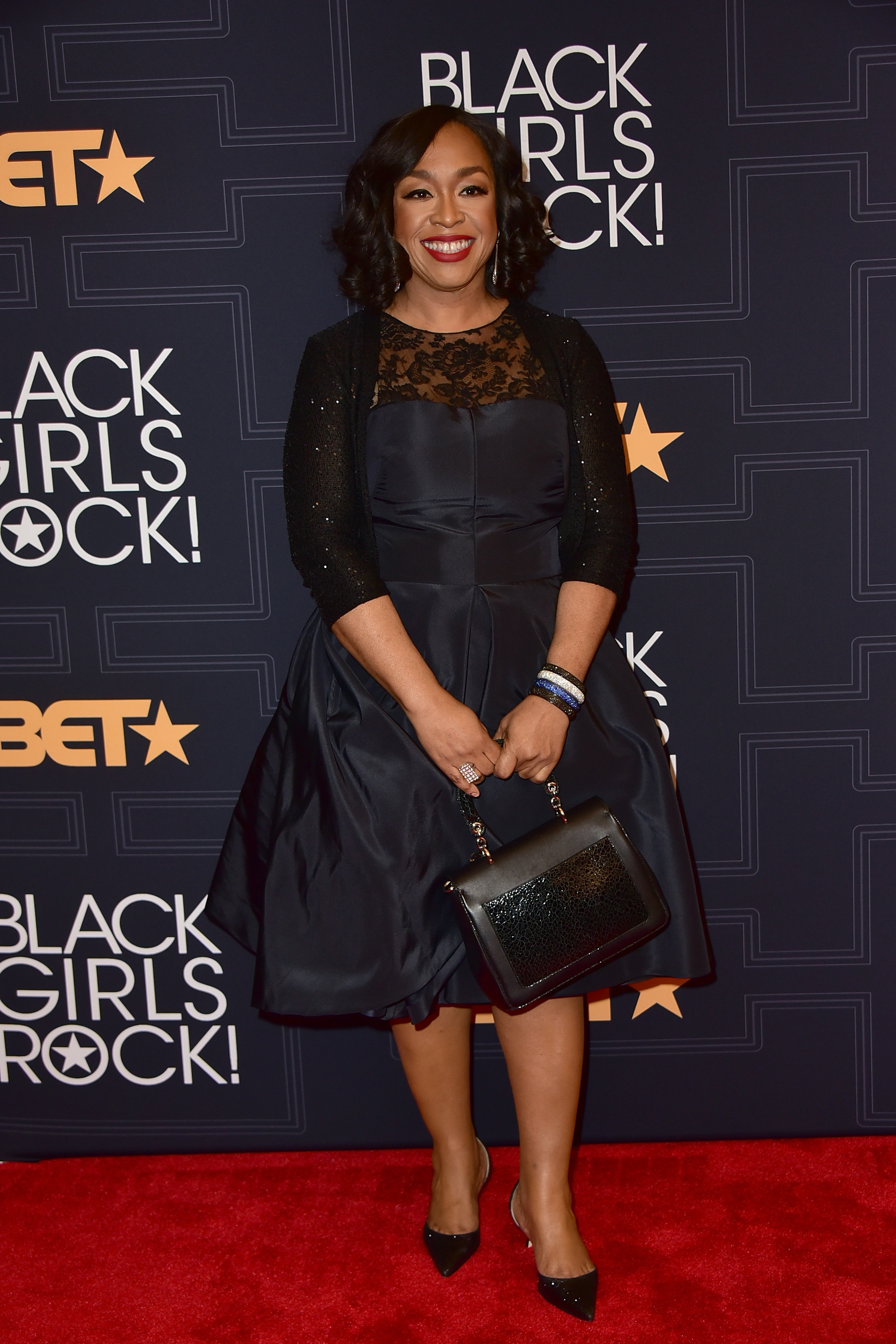 Shonda Rhimes attends the Black Girls Rock! 2016 Show at New Jersey Performing Arts Center on April 1, 2016 in Newark, New Jersey